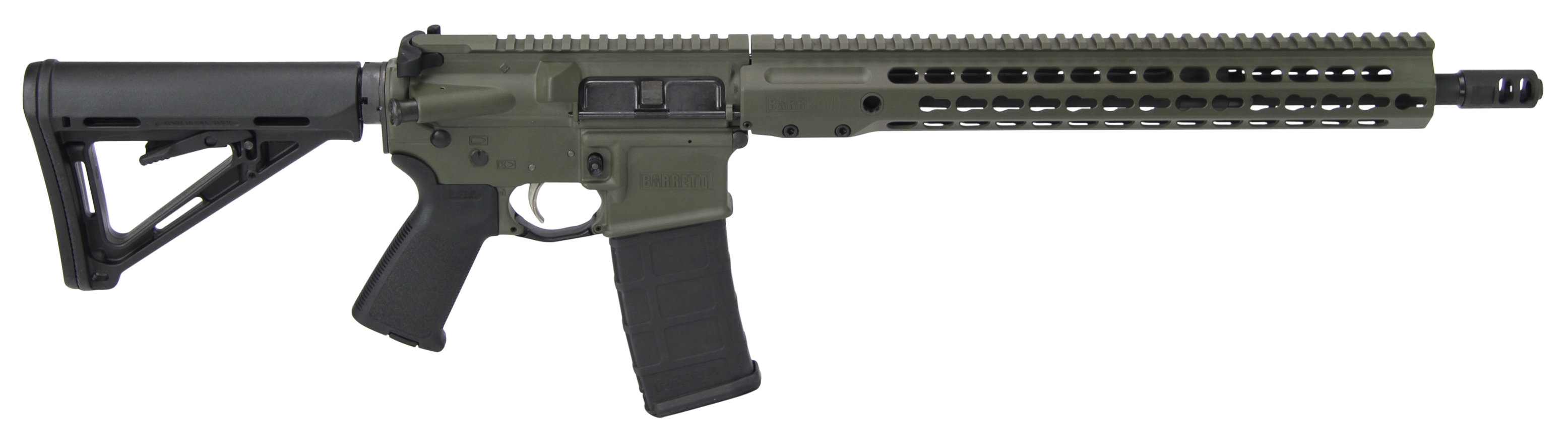 Barrett 15396 REC7 DI Gen II Semi-Automatic 223 Remington/5.56 NATO 16
