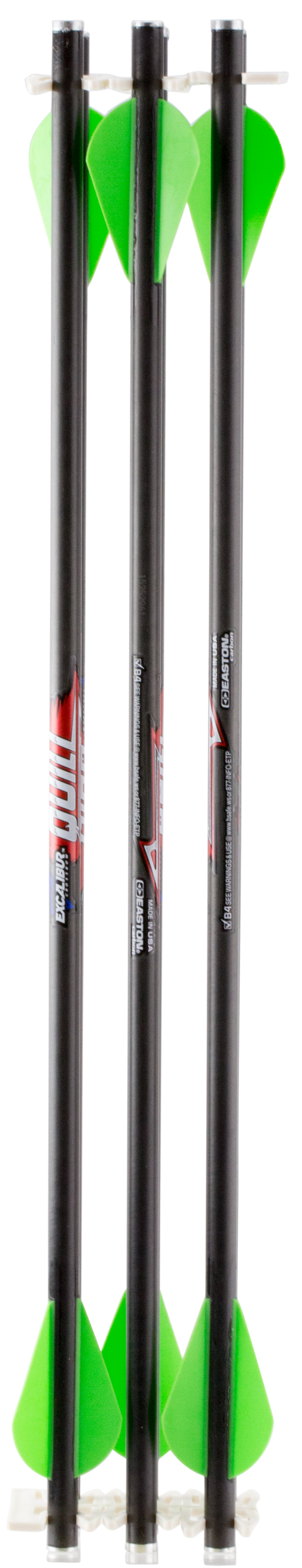 Excalibur 22QV166 Carbon Arrows Fieldpoint Blk