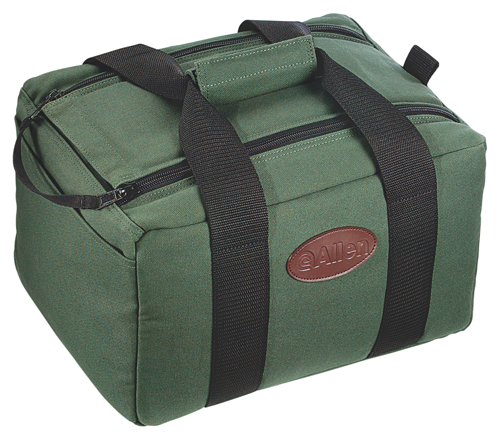 Allen 2202 Shooters Carry All Canvas Shooting Bag Pistol Bag Canvas 9.5