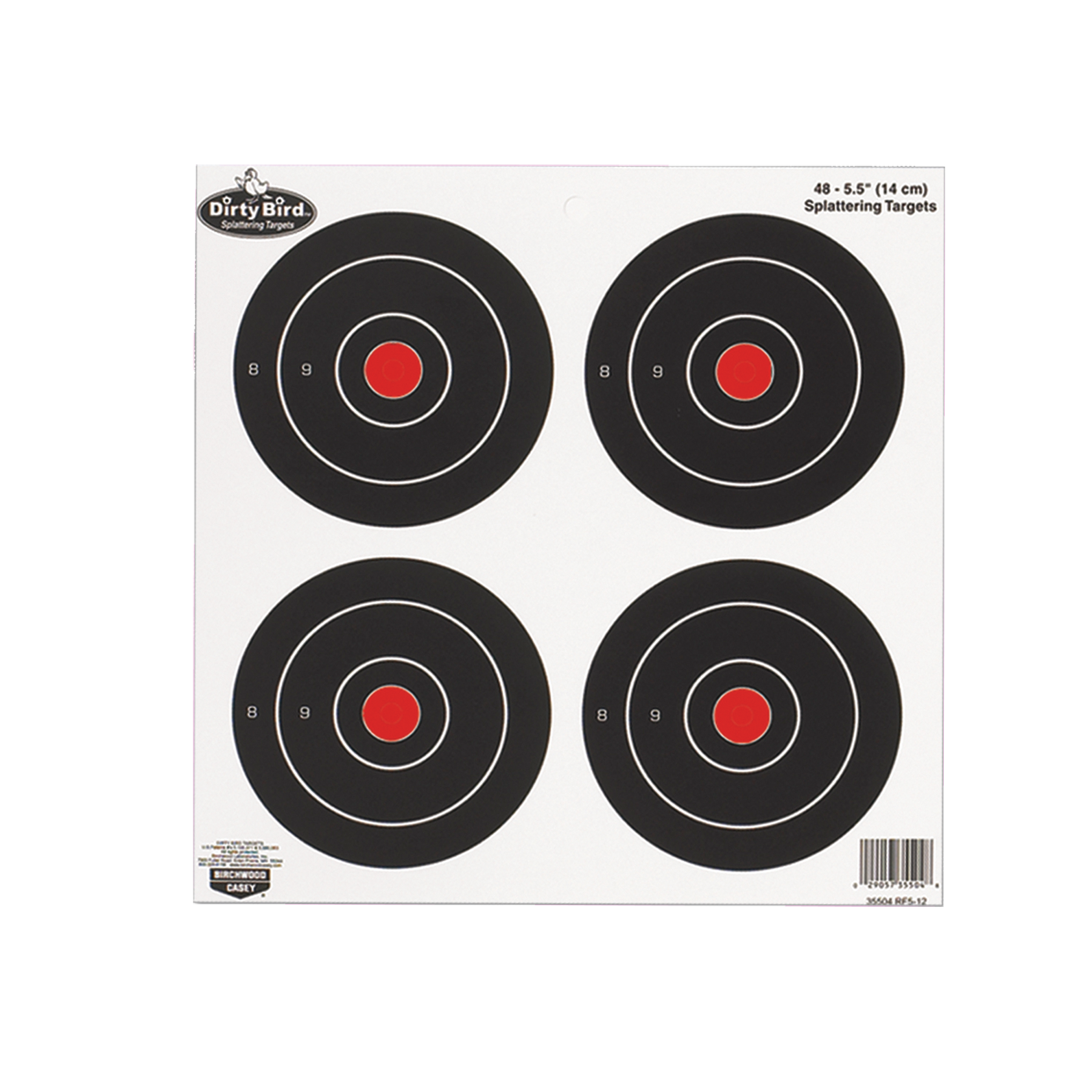 Birchwood Casey 35504 Dirty Bird Target 5.5