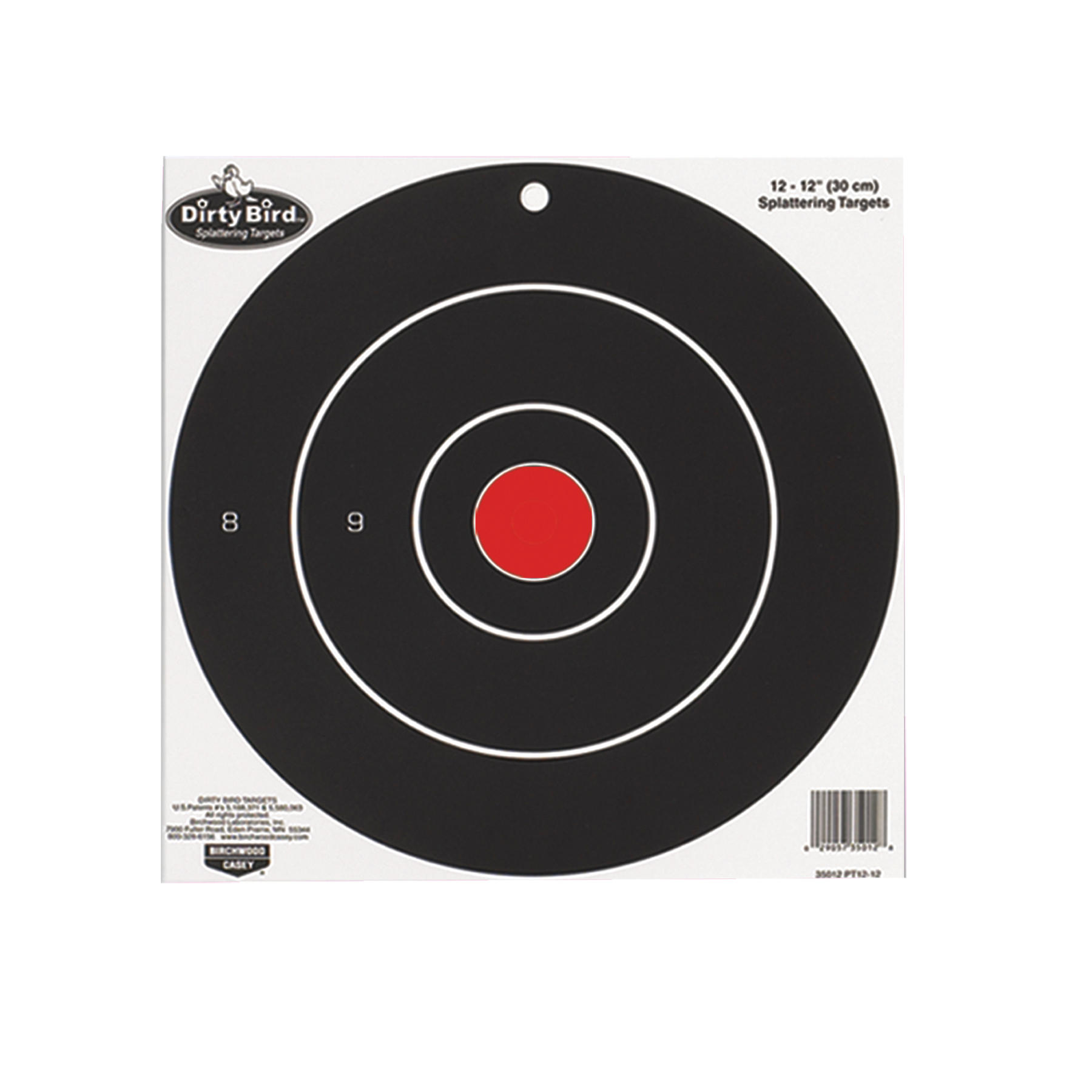Birchwood Casey 35825 Dirty Bird Targets 8