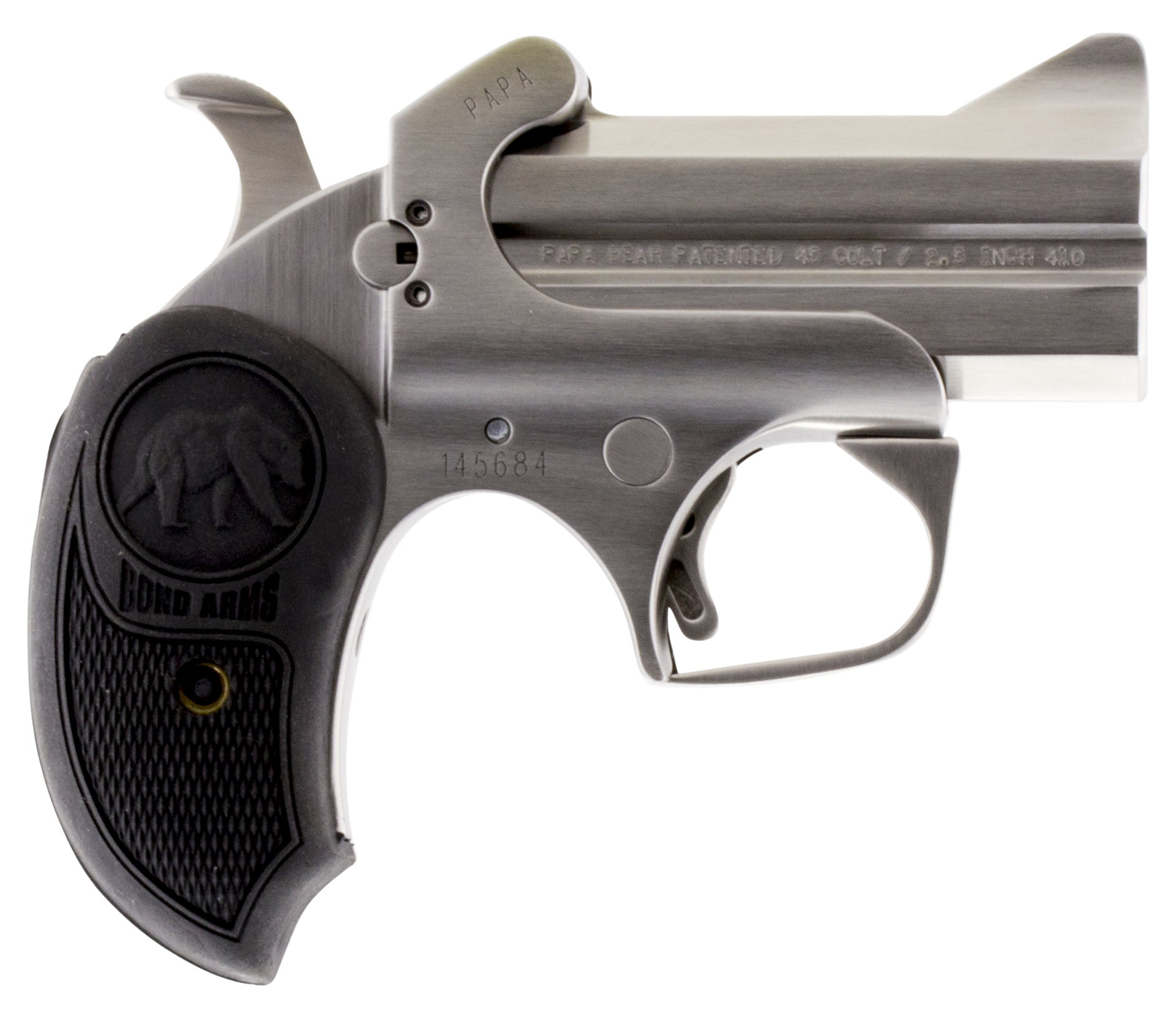 Bond Arms BAPB Papa Bear 45 Colt/410 Pistol Single 45 Colt (LC)/410 Gauge 3