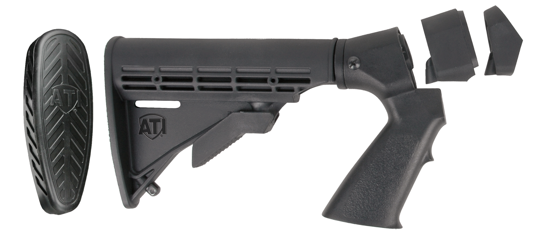 Advanced Technology MRW4100 Shotforce Shotgun Stock Moss/Rem Synthetic Black