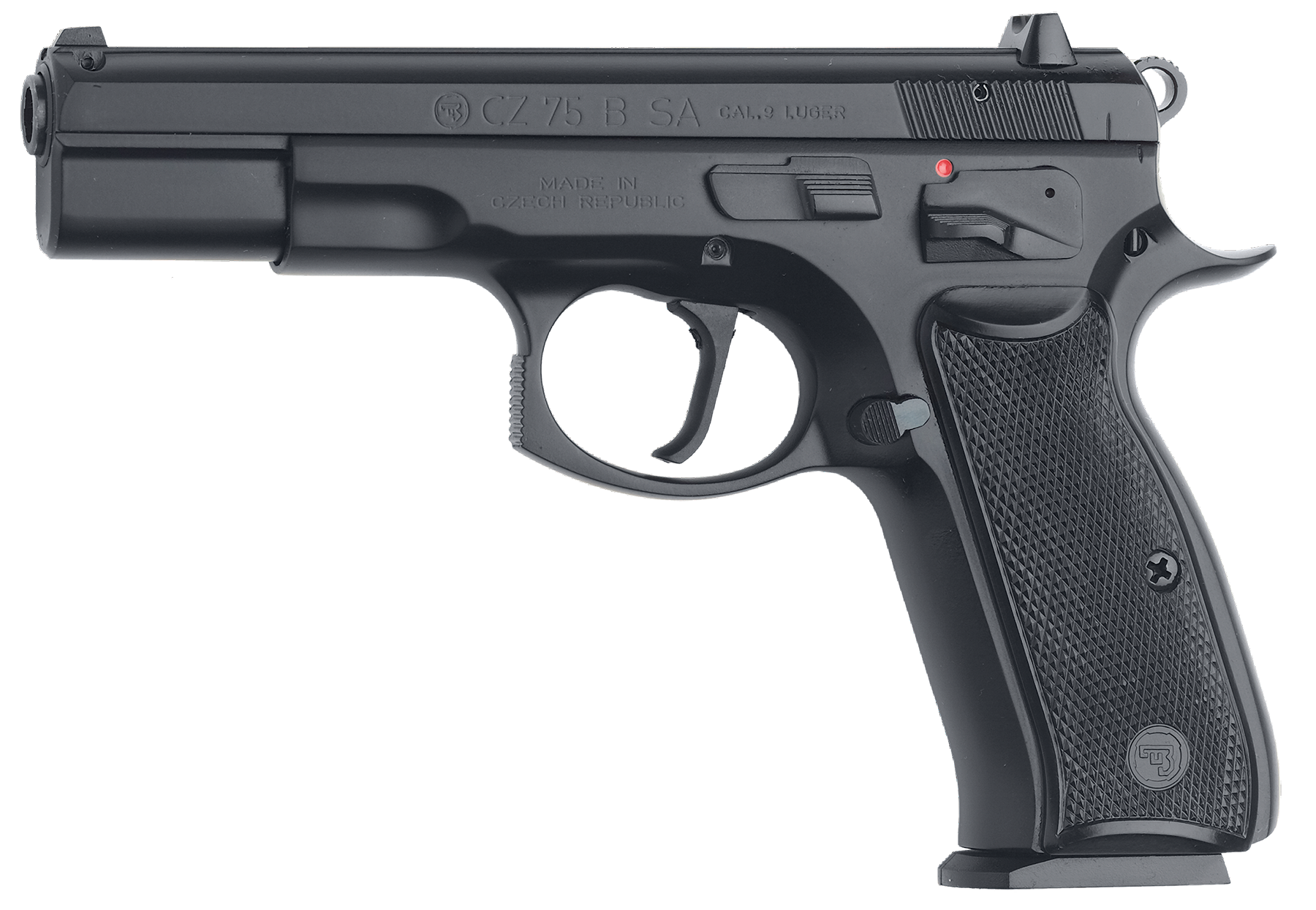 CZ 01150 CZ 75 75-B Single 9mm Luger 4.6