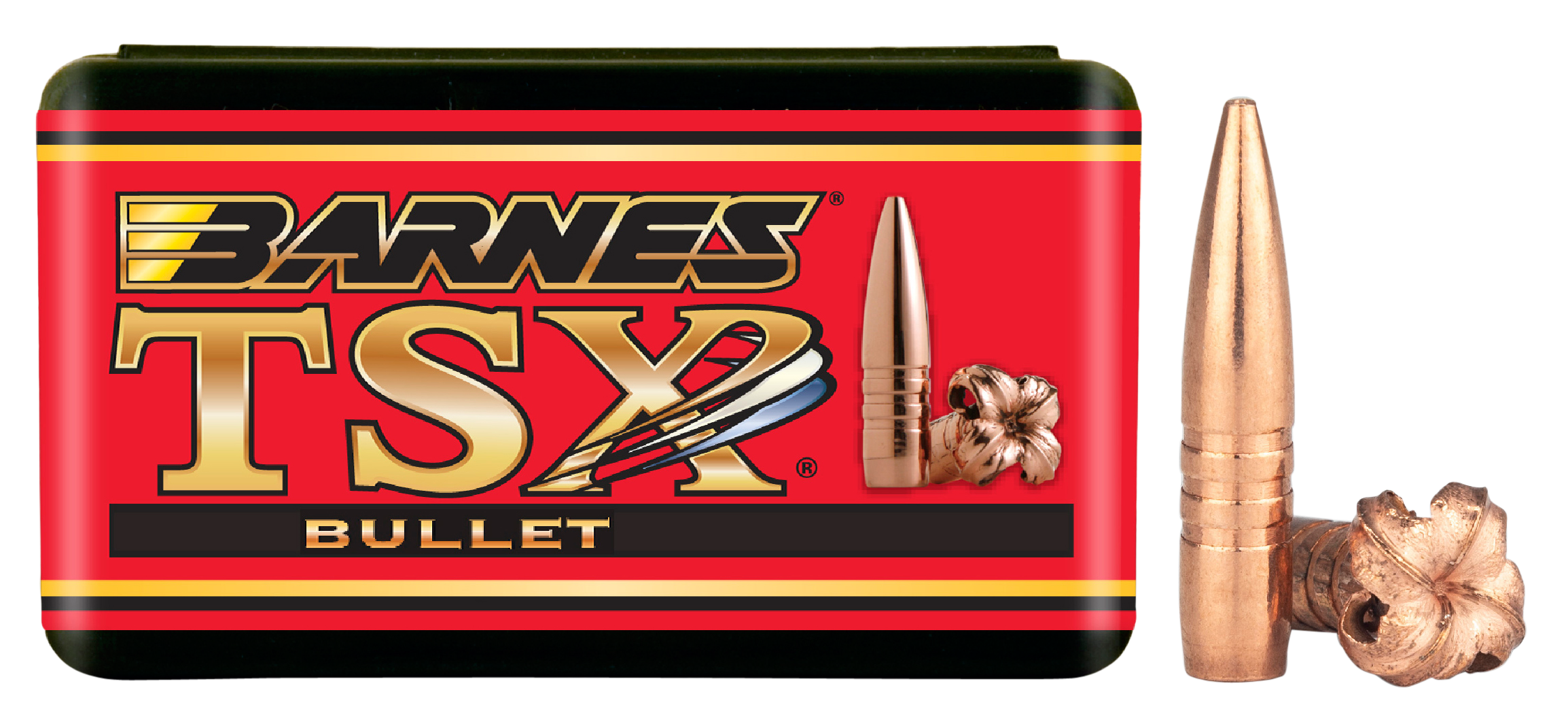 Barnes Bullets 22441 Rifle 22 Caliber .224 45 GR TSX FB 50 Box