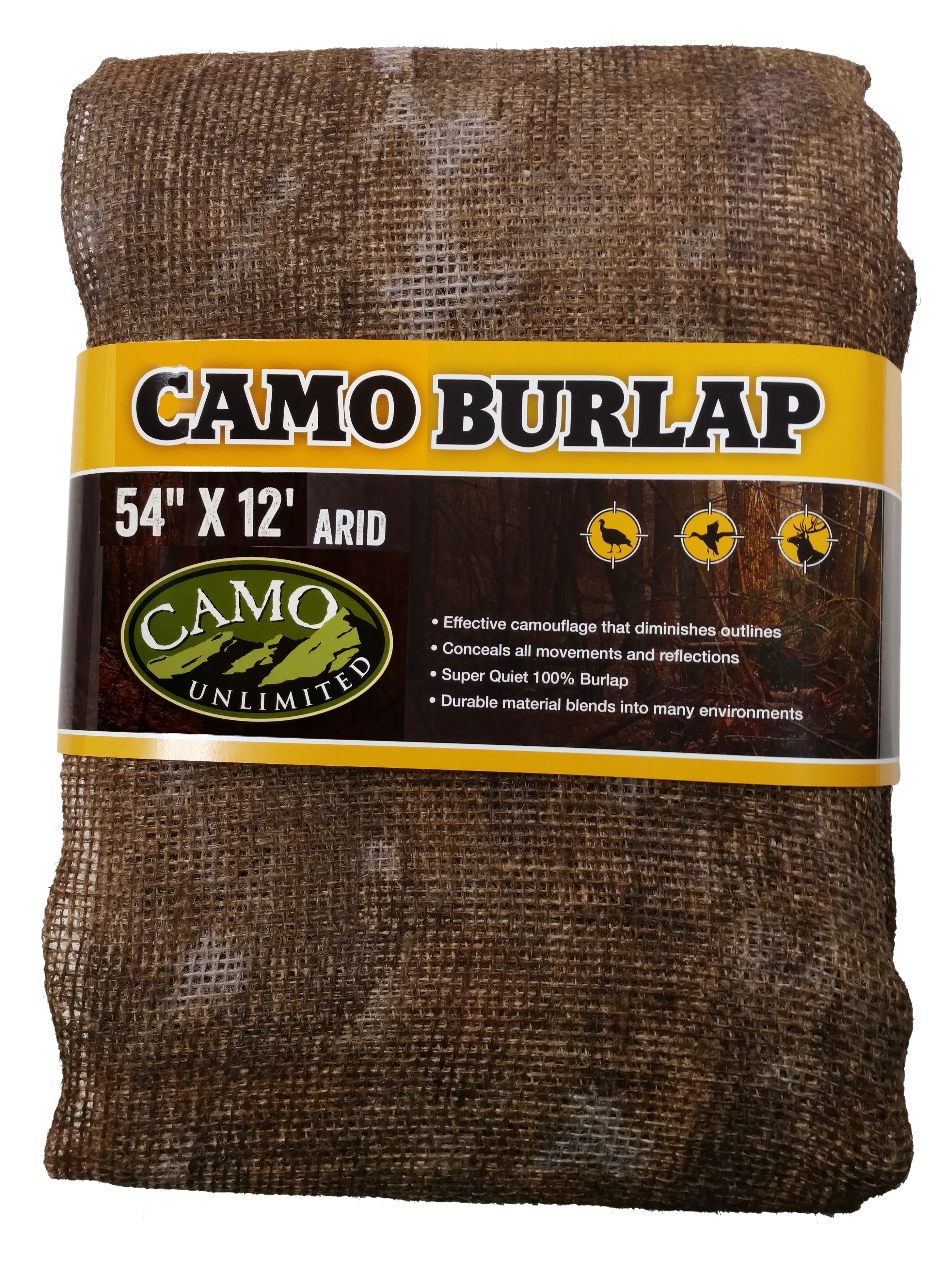 Camo Unlimited 9550 Camo Burlap