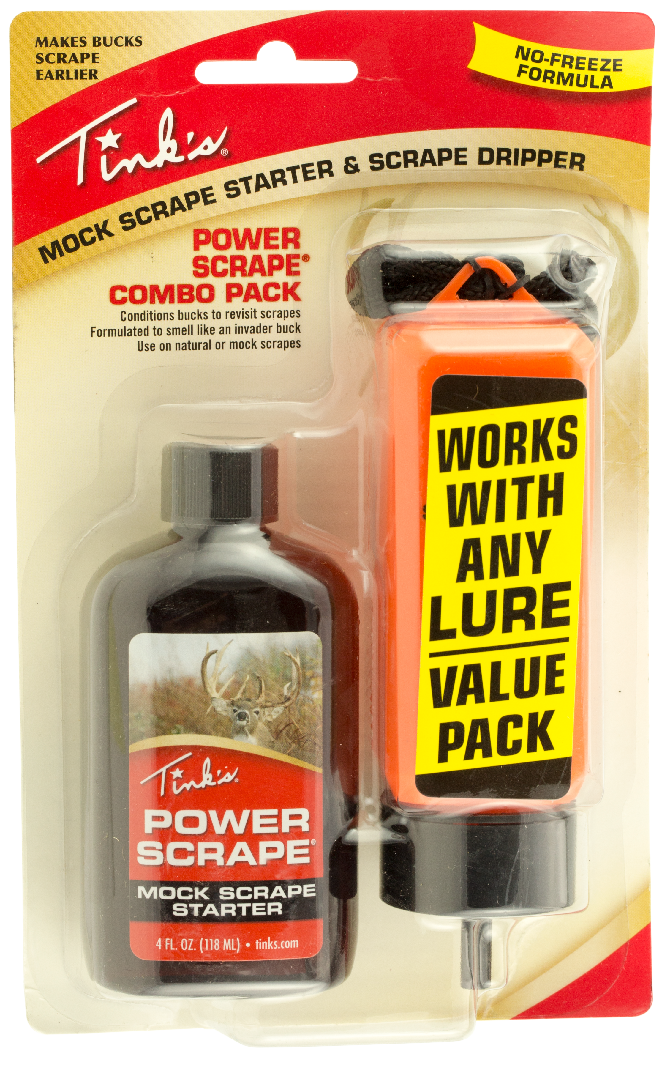 Tinks W5952 Power Scrape Deer Scent Buck 4 oz