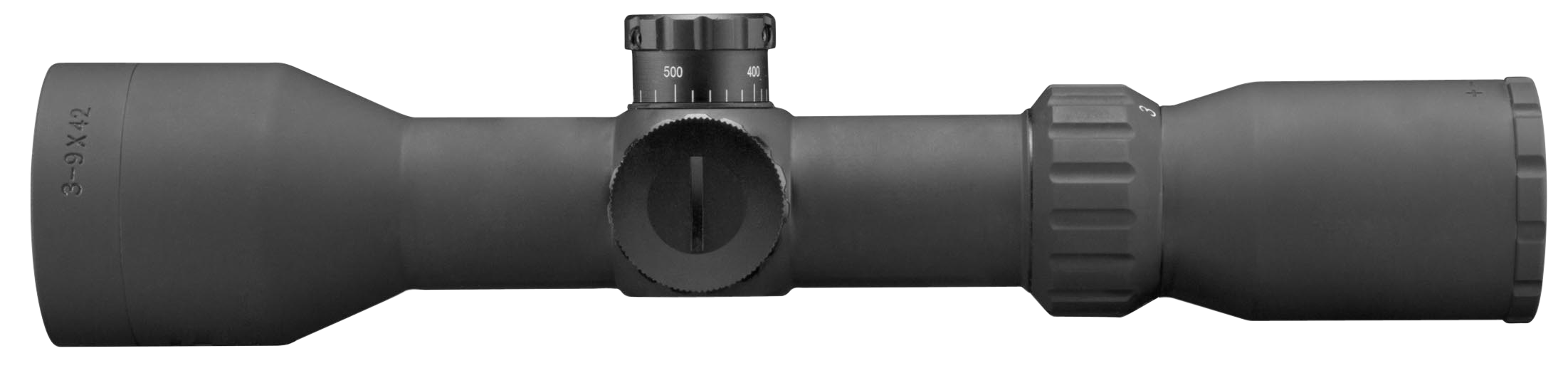 Aim Sports JXPFEM3942G XPF 3-9x 42mm Obj 41.9-14.1 ft @ 100 yds FOV 30mm Tube Black Mil-Dot