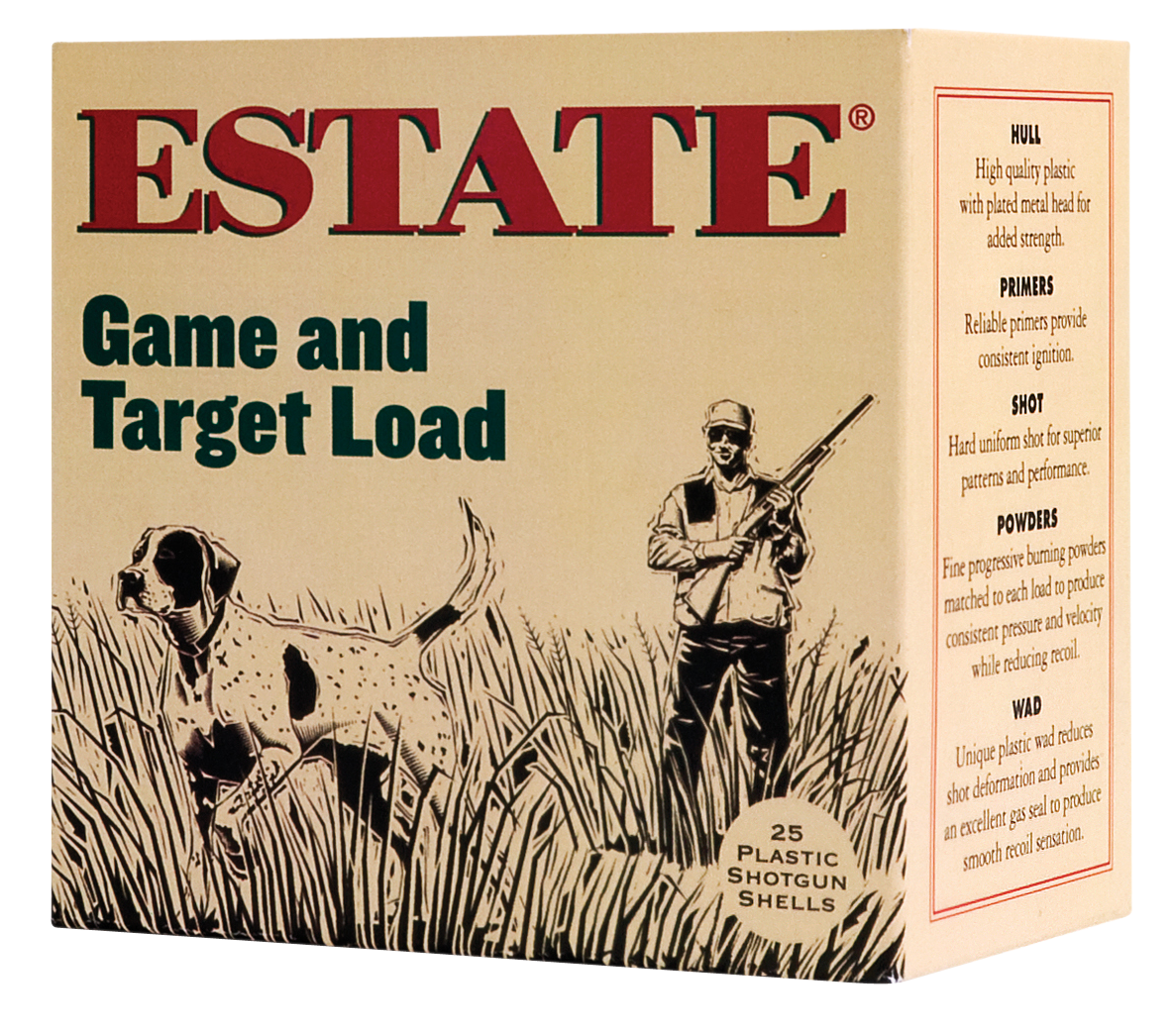 Estate GTL12T8 Game and Target Dove 12 Ga 2.75