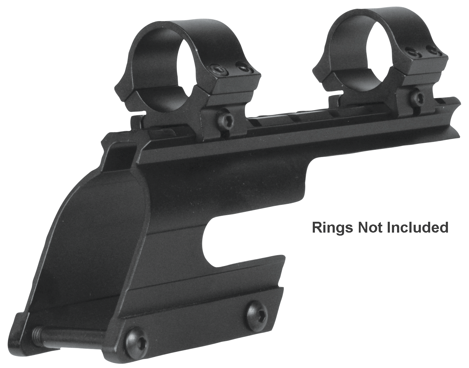 B-Square 16800 Saddle Mount Remington 1100/1187 Saddle Mount For Saddle Mount Weaver Style Black Matte Finish