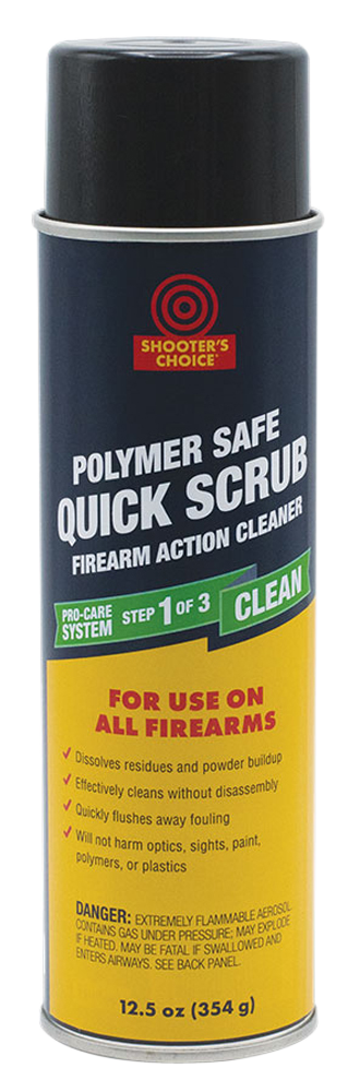 Shooters Choice PSQ12 Polymer Safe Quick Scrub Degreaser 12.5 oz