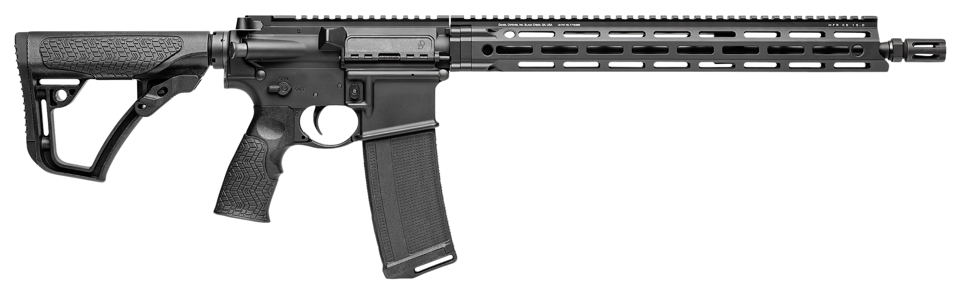 Daniel Defense 02241047 DDM4 V7 LW Semi-Automatic 223 Remington/5.56 NATO 16