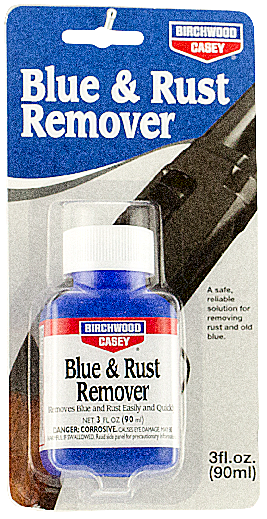 Birchwood Casey 16125 Liquid Blue Rust Remover 3 oz