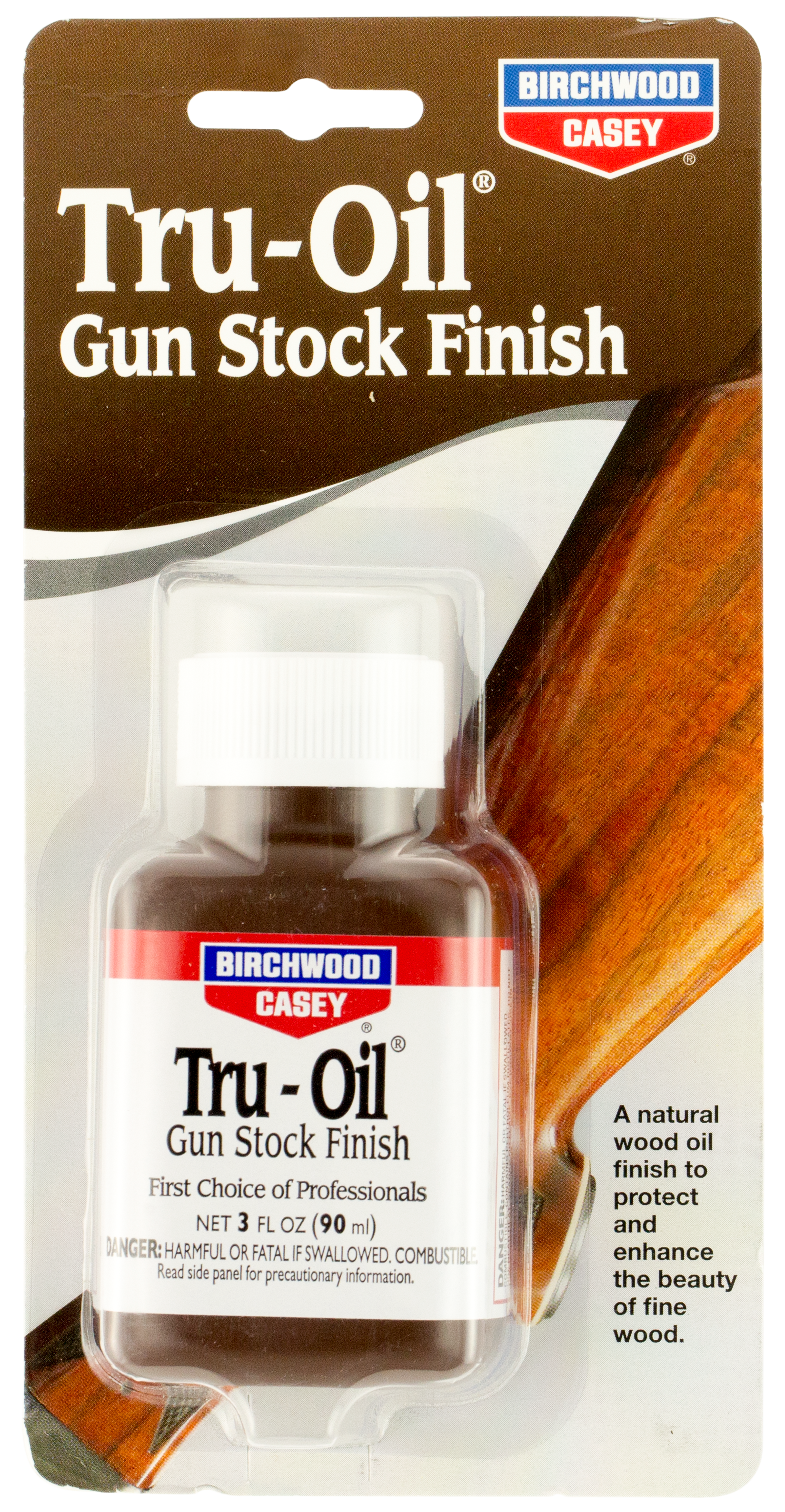 Birchwood Casey 23123 Tru-Oil Gun Stock Finish Tru-Oil Gun Stock Finish 3 oz