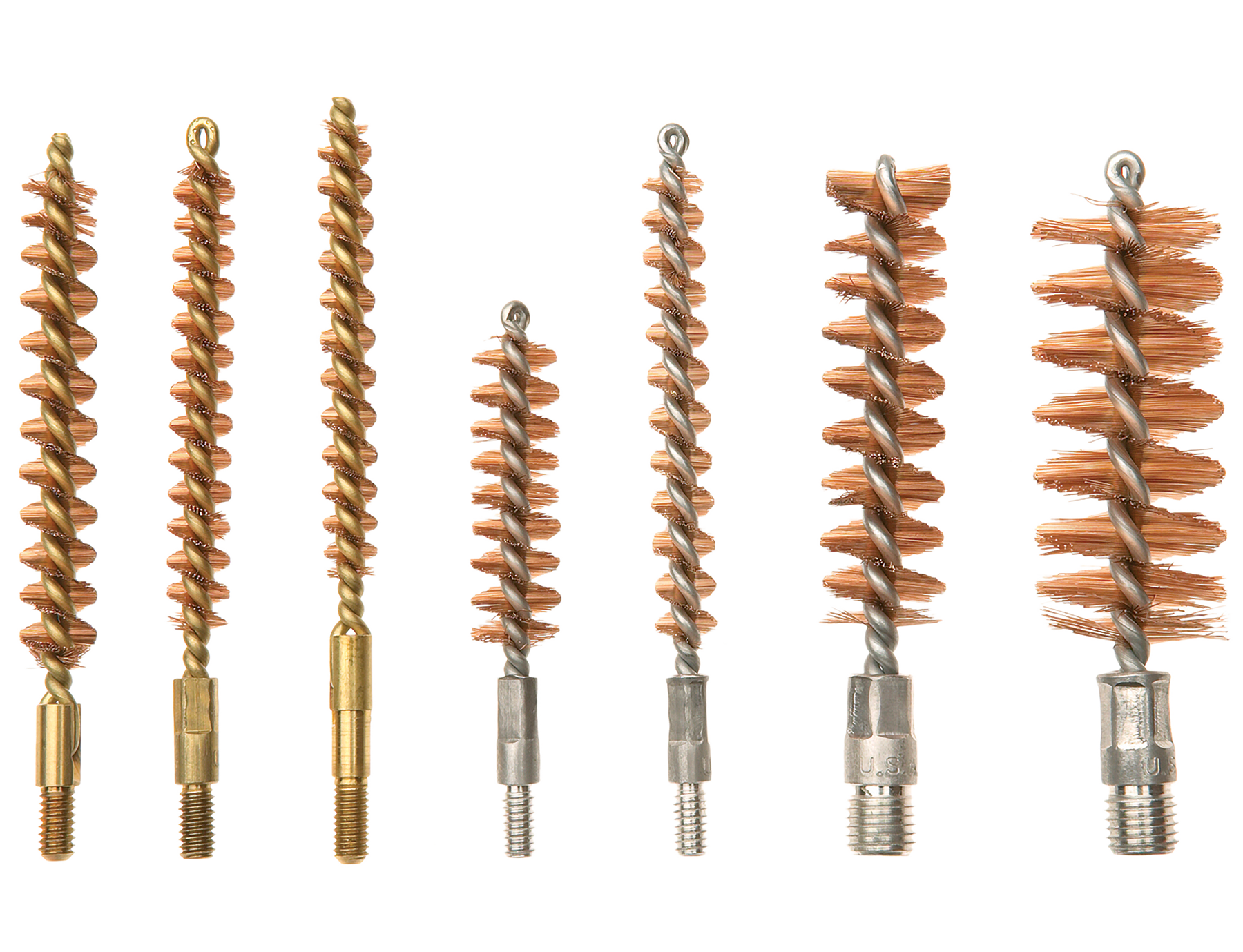 Kleen-Bore A160 Rifle Phosphor Bronze Bore Brushes/Mops .375/.380 5 Pack