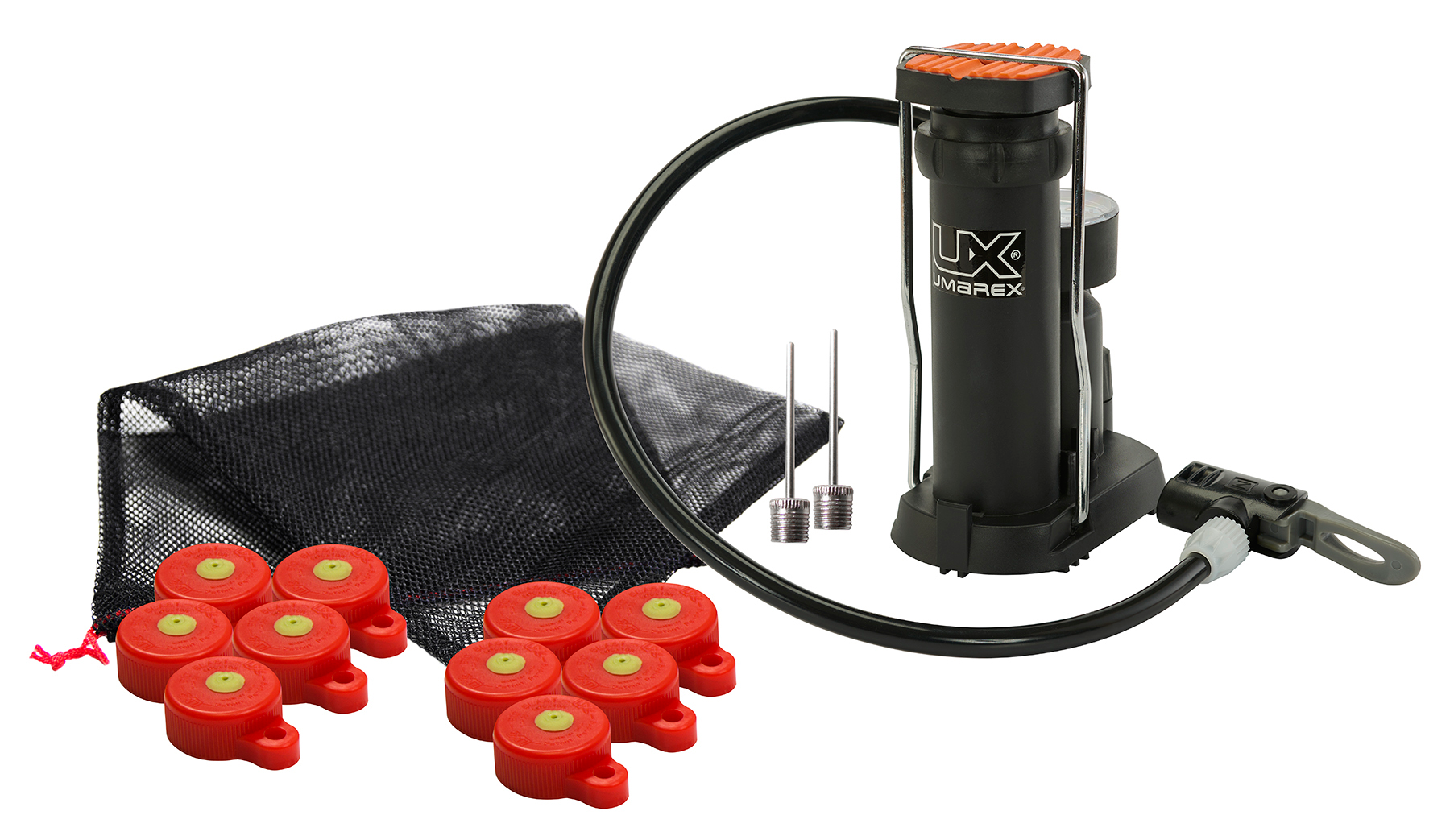 Umarex USA 2211188 Big Blast Cap Target Inflator with Foot Pump