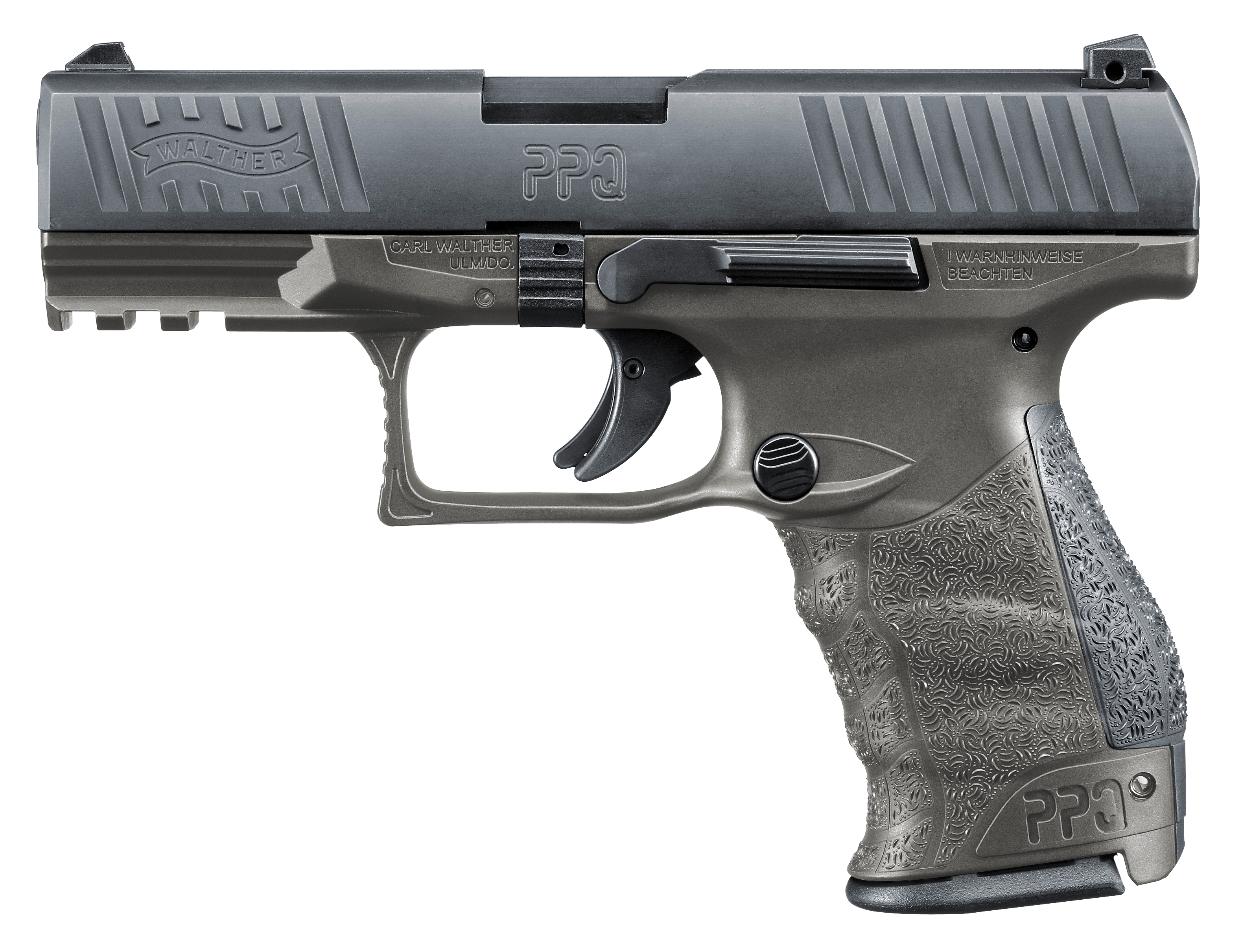 Walther Arms 2823462 PPQ M2 Tungsten Gray *Exclusive* Single/Double 9mm 4