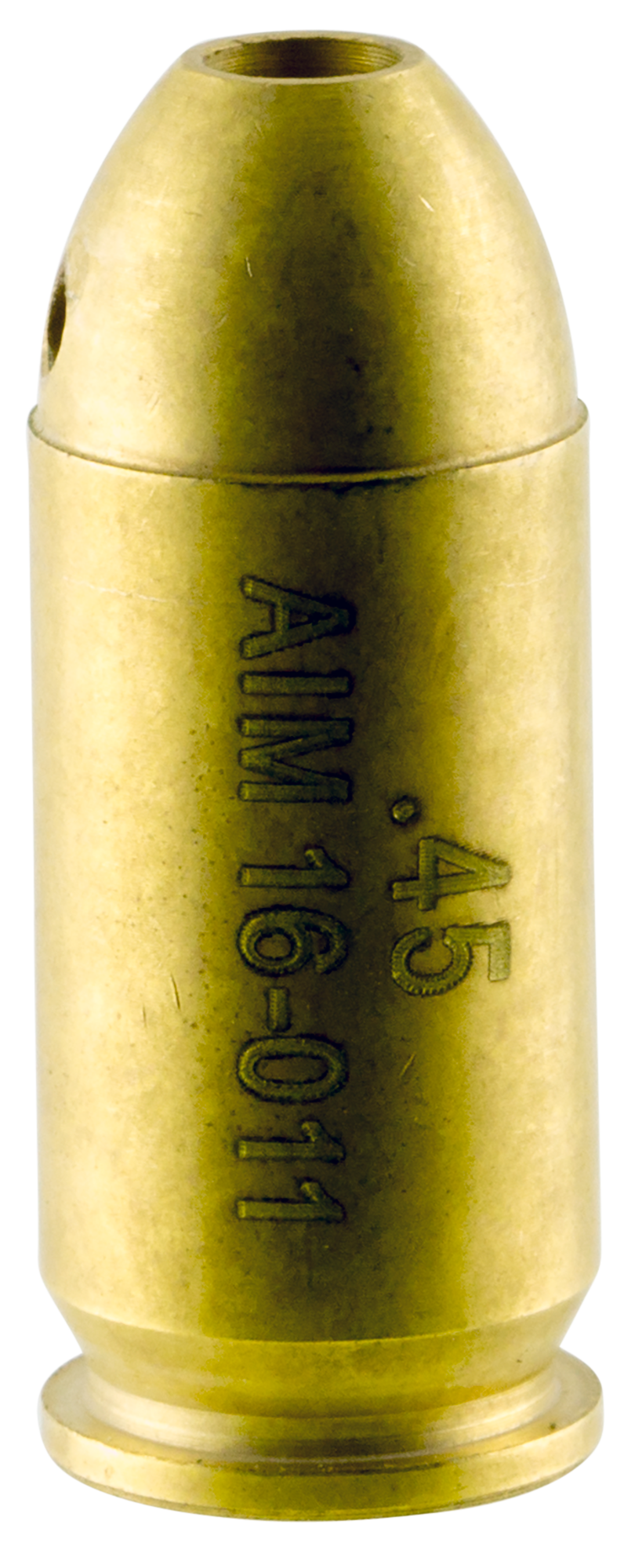 Aim Sports PJBS45 45 Bore Sight Laser Boresighter Cartridge 45 ACP Chamber Brass