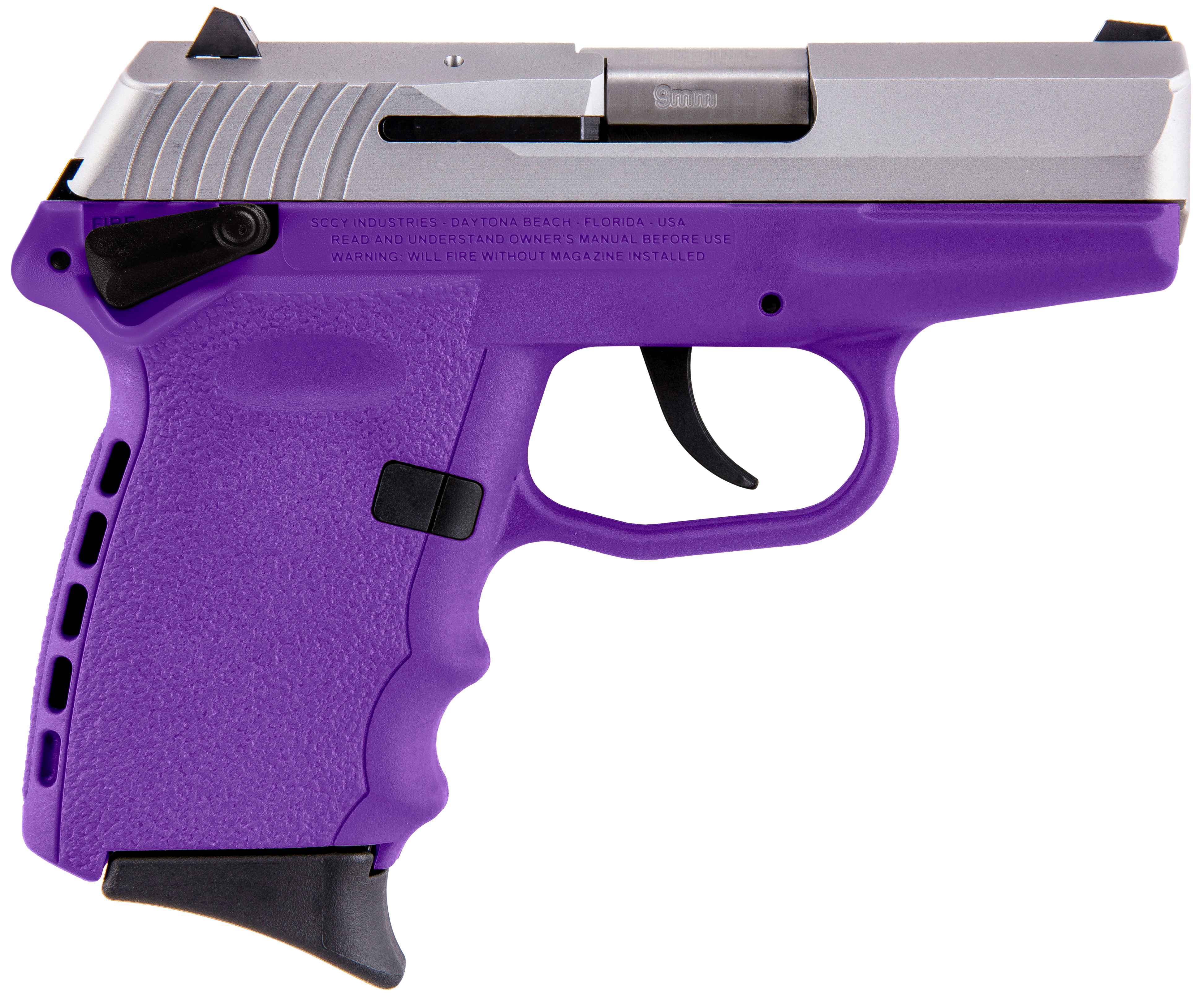 SCCY Industries CPX1TTPU CPX-1 Double 9mm 3.1