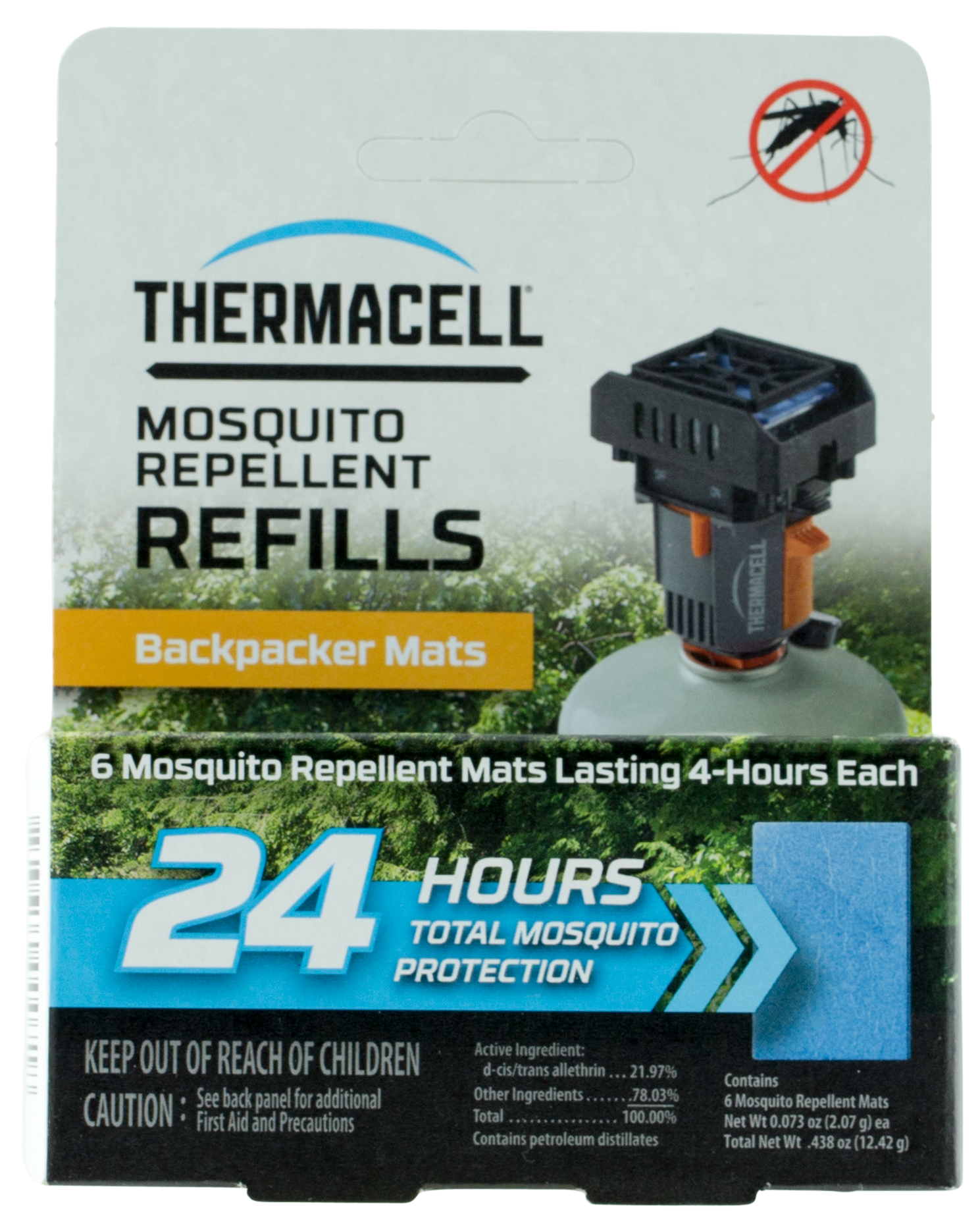 Thermacell M24 Backpacker Mosquito Repeller Refill Mat