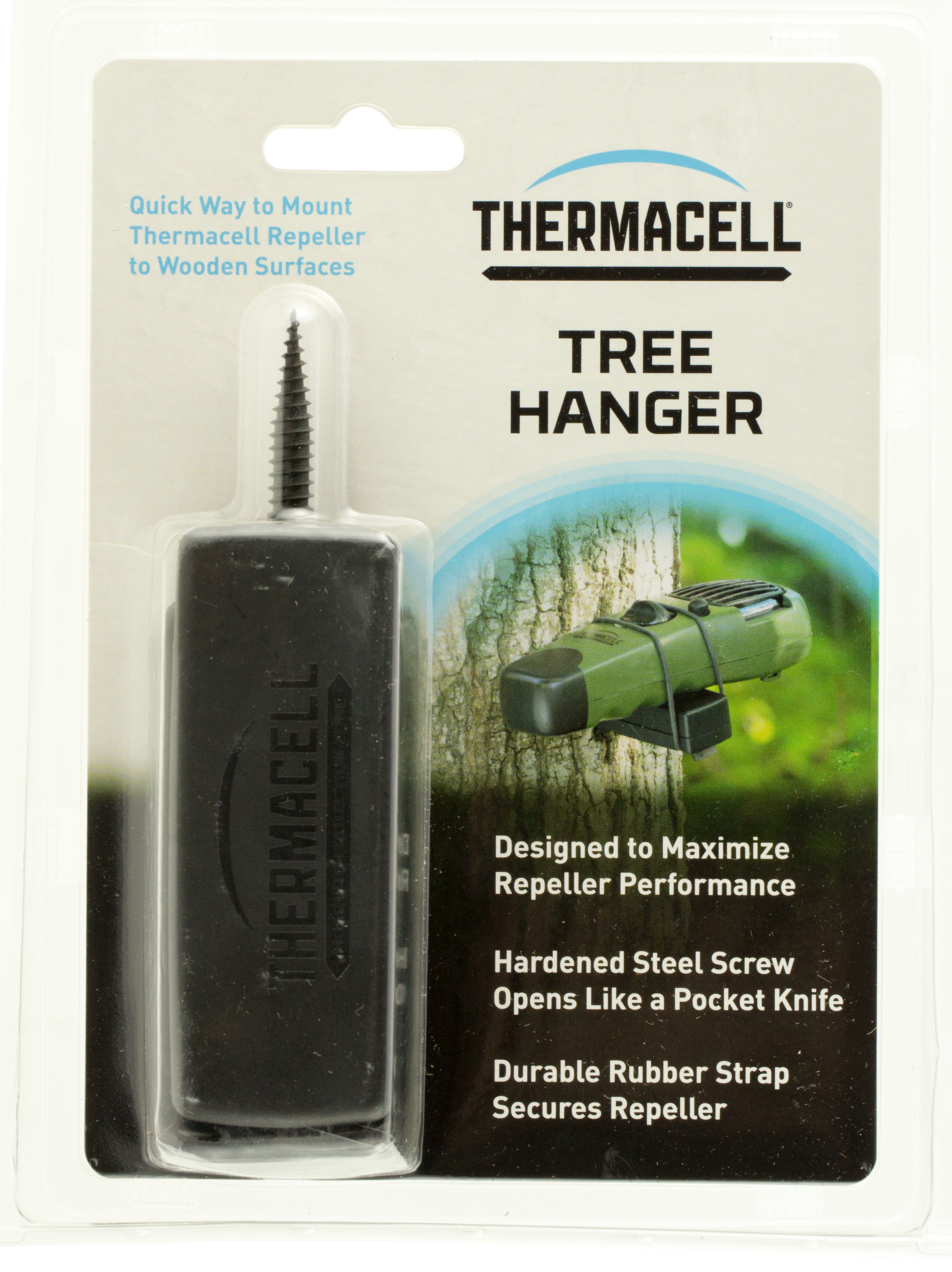 Thermacell AJTH Tree Hanger Rubber Anchor Black
