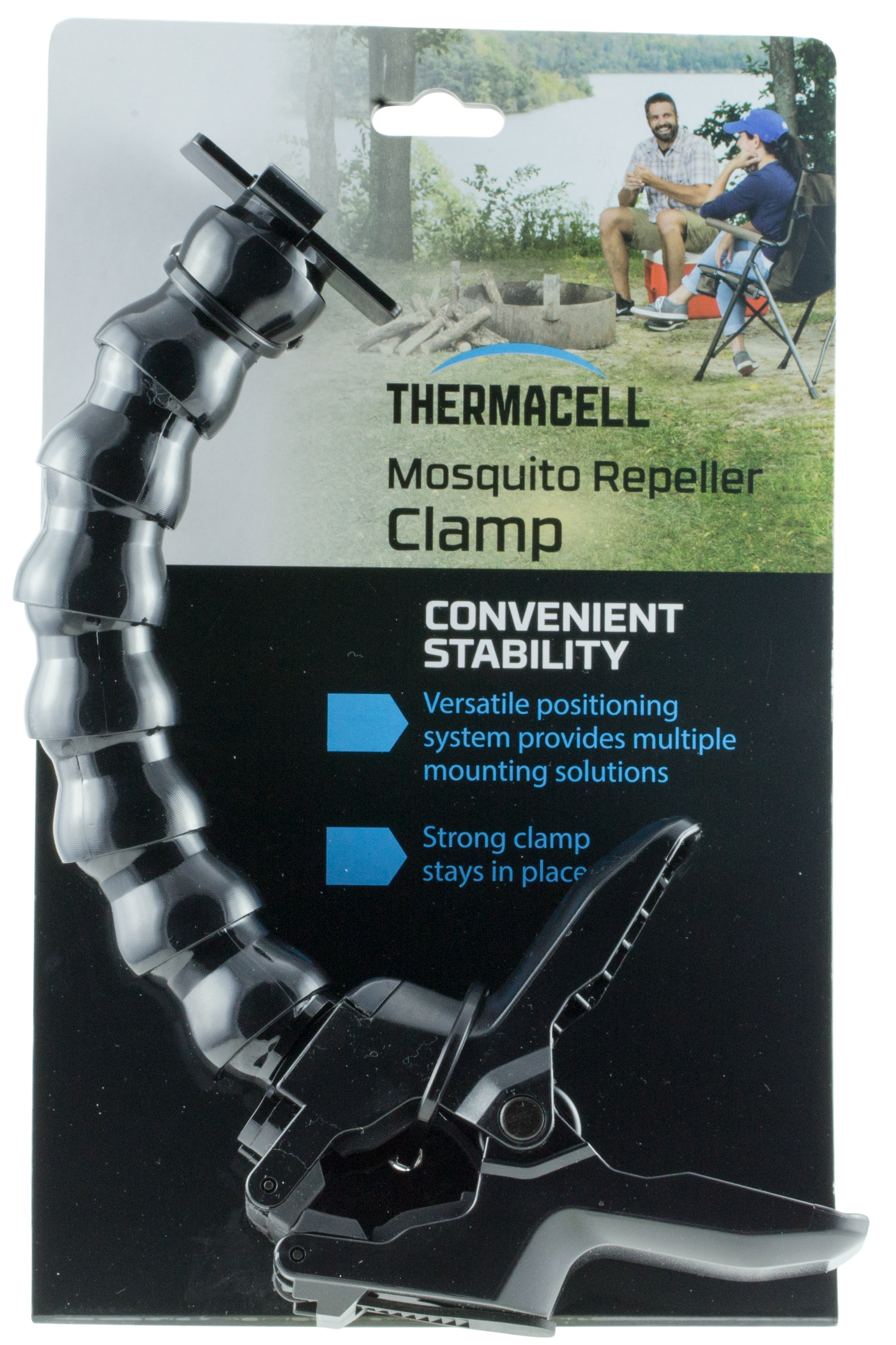 Thermacell AJ4CP Multipurpose Clamp Black Polymer