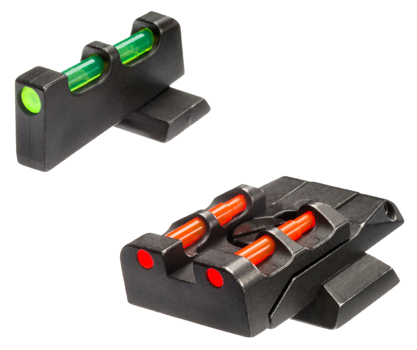 Hiviz  M&P Front and Rear Sight S&W M&P Green/Red/White Front Green/Red/Black Rear Black