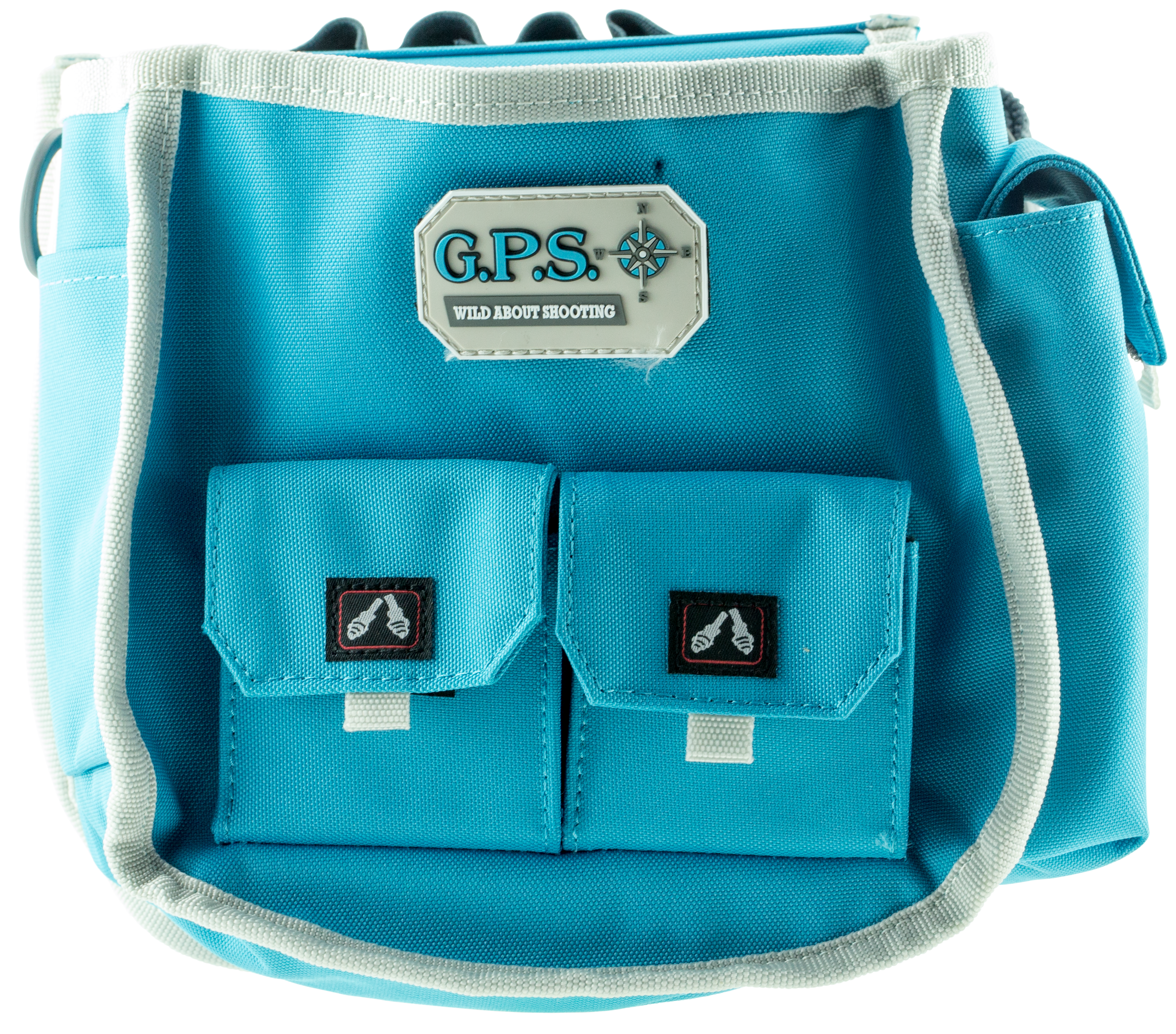 G*Outdoors  Deluxe Shell Pouch Robin Egg Blue 600D Polyester 10