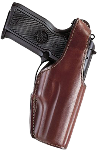 Bianchi 15734 19 Thumb Snap  9mm Automatic Ruger P89/P90/P91 Leather Tan