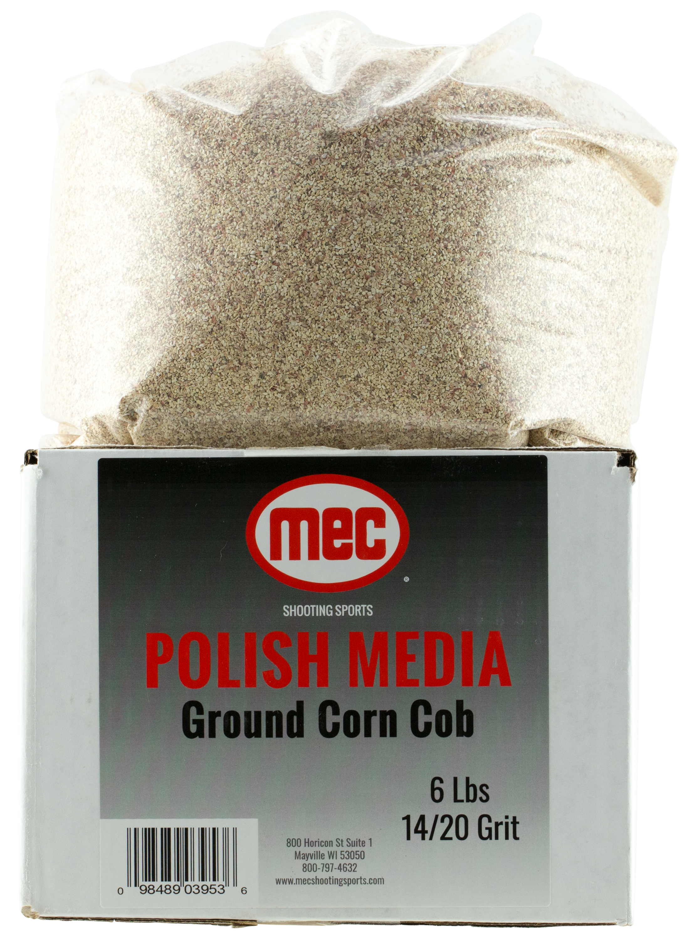 MEC  Brass Prep Tumbling Media 1 Multi-Caliber