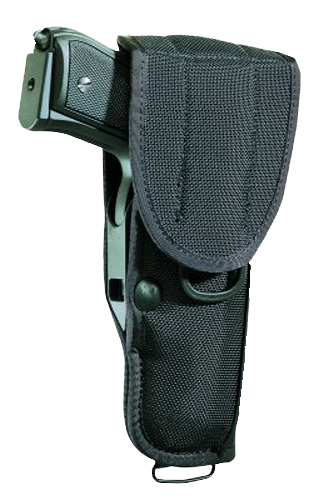 Bianchi 17006 UM92 Universal Military with Trigger Guard Shield  Ber; Bren Ten;Colt;Kimber;Llama;M&B;Mauser;PO Nylon Black