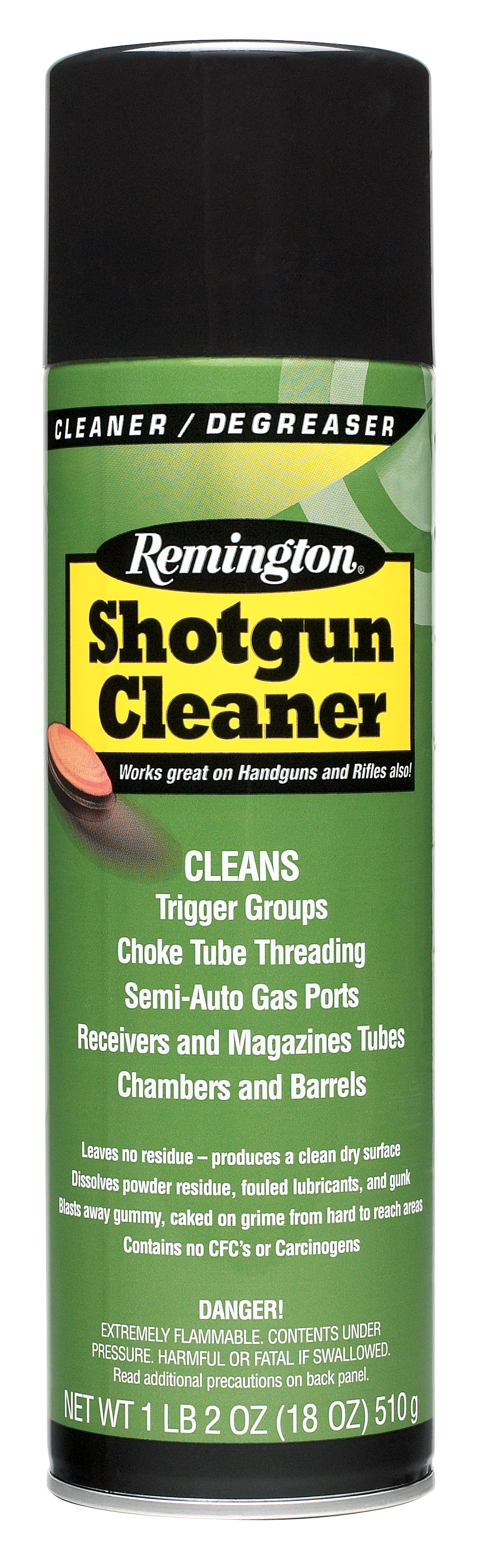 Remington Accessories 18472 Remington Shotgun Cleaner Aerosol Degreaser 18 oz