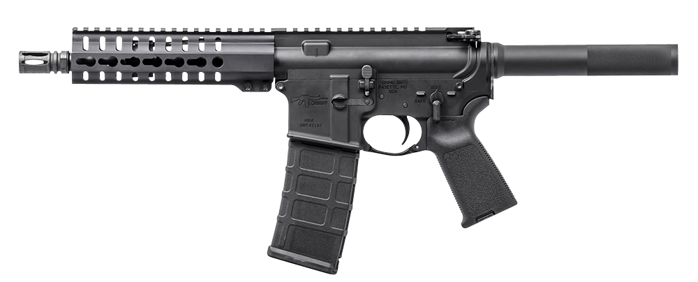 CMMG 30A81D2 MK4 PDW Pistol AR Pistol Semi-Automatic 300 AAC Blackout/Whisper (7.62x35mm) 8