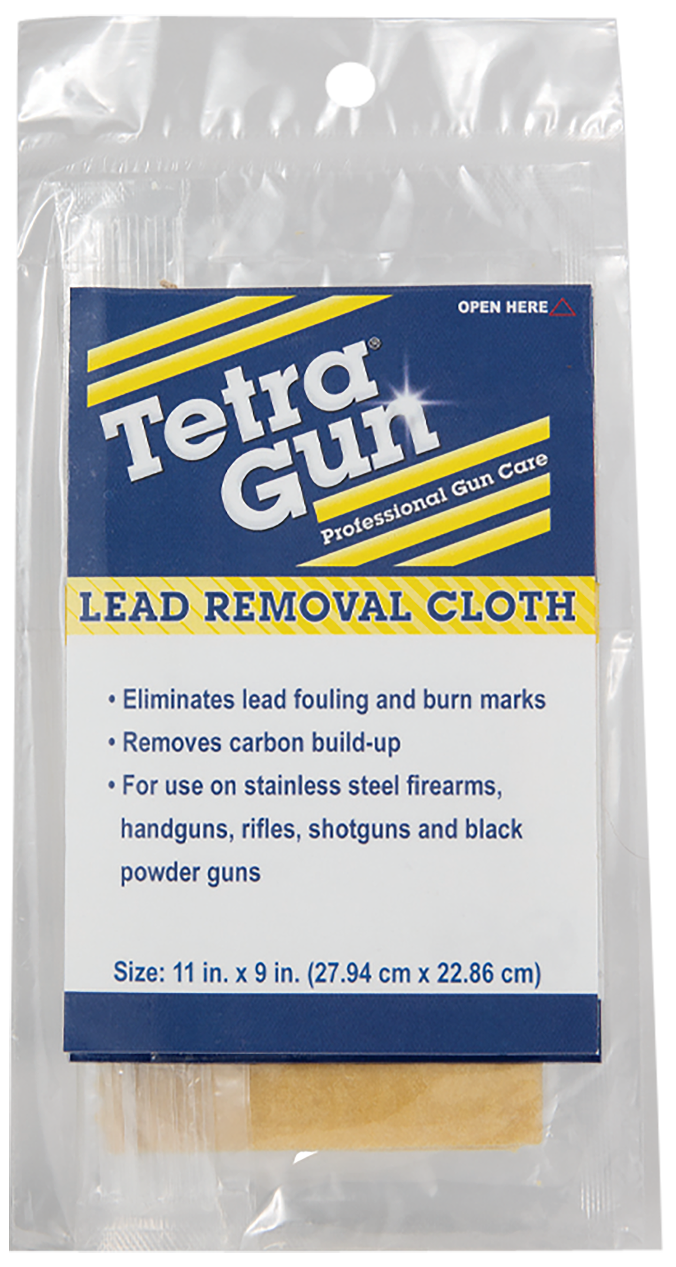 Tetra 330I Gun Lead Removal Cleaning Cloth 10