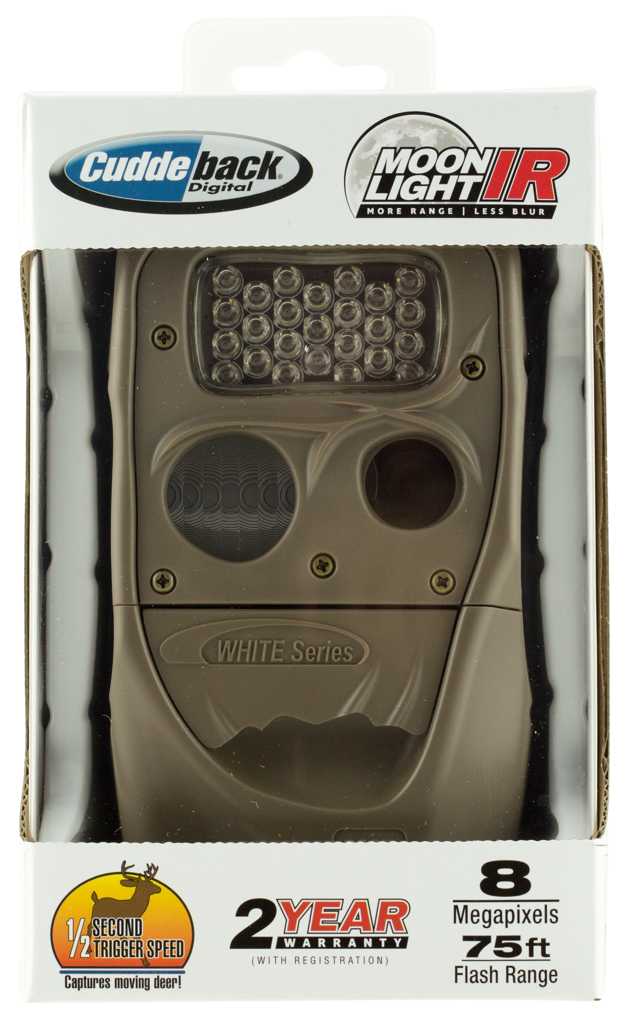 Cuddeback 1408 Moonlight Trail Camera 8 MP Brown