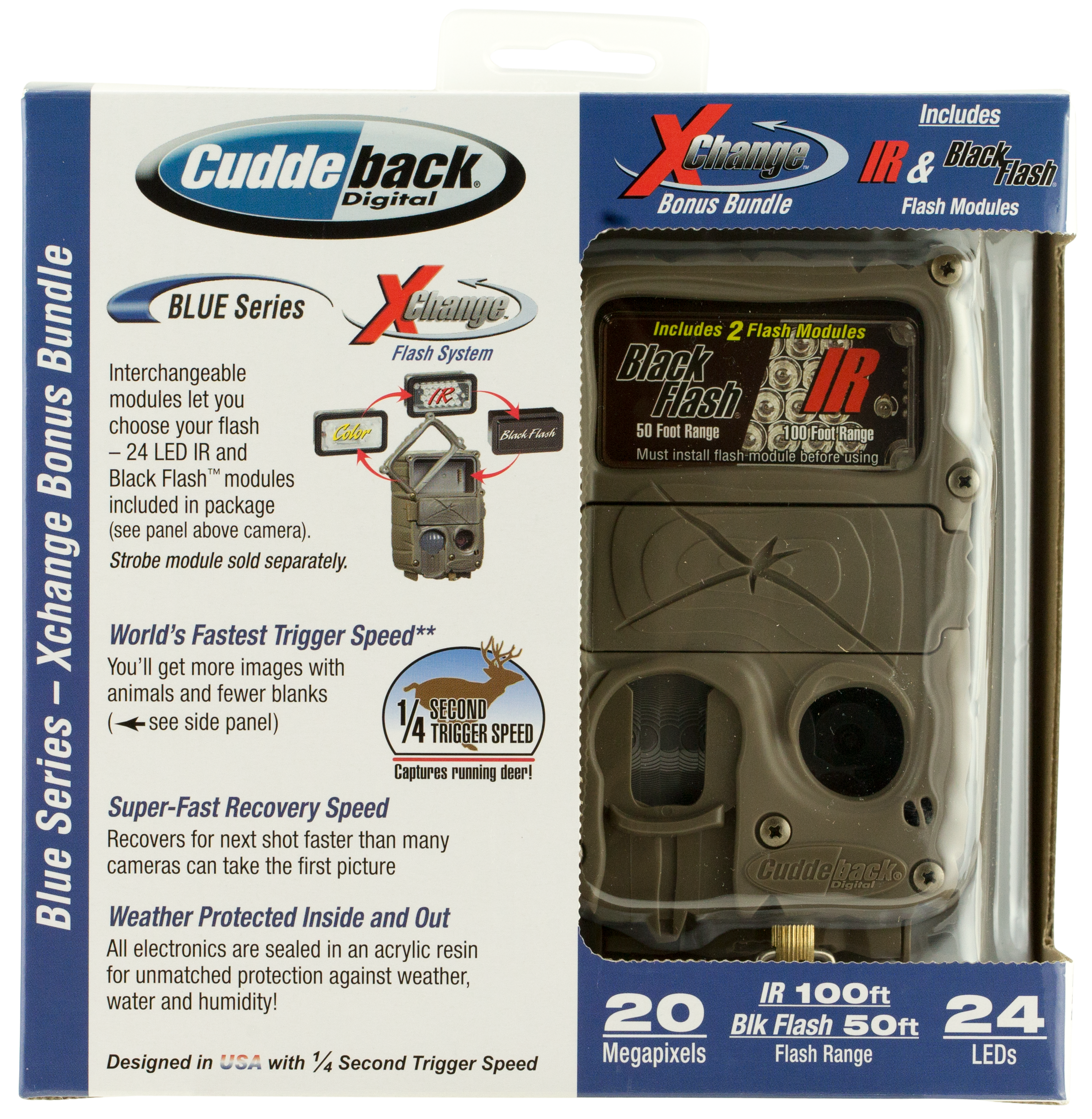 Cuddeback 11339 X-Change Trail Camera 20 MP Tan