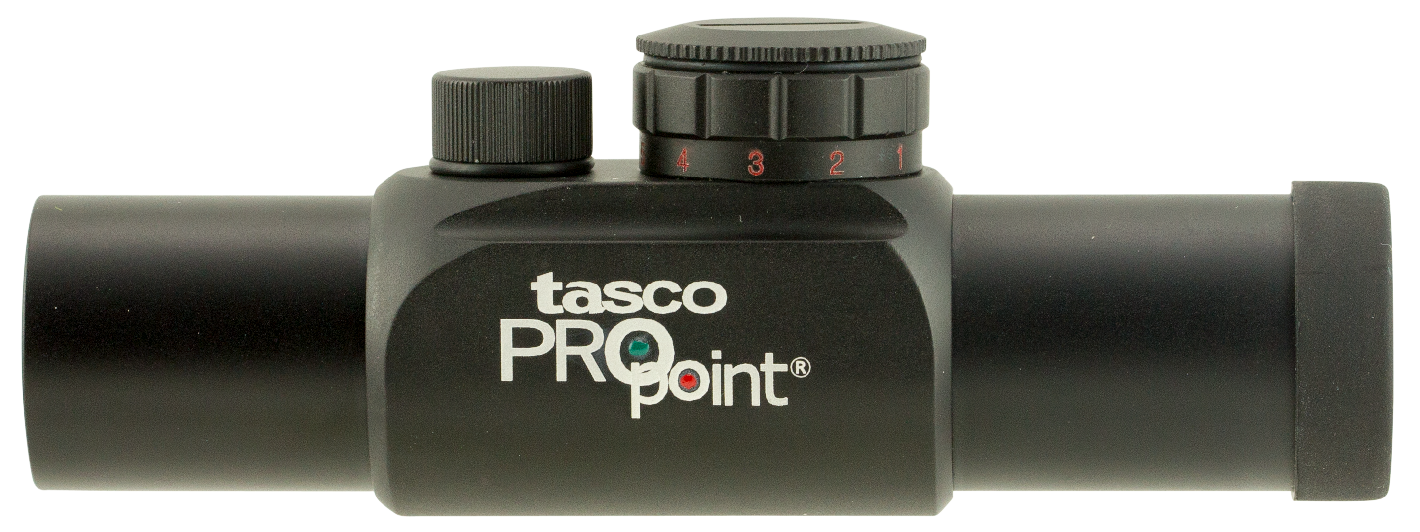 Tasco PDPRGD ProPoint 1x 26mm Obj Unlimited Eye Relief 5 MOA Illuminated Red/Green Dot Black Matte