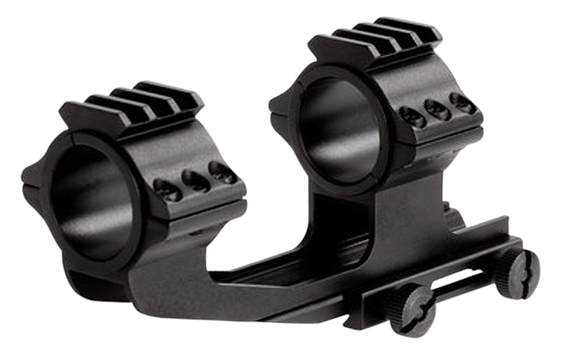 Sun Optics CM2125W30EP 1-Pc Base & Ring Combo For AR 1-Piece Style Black Finish