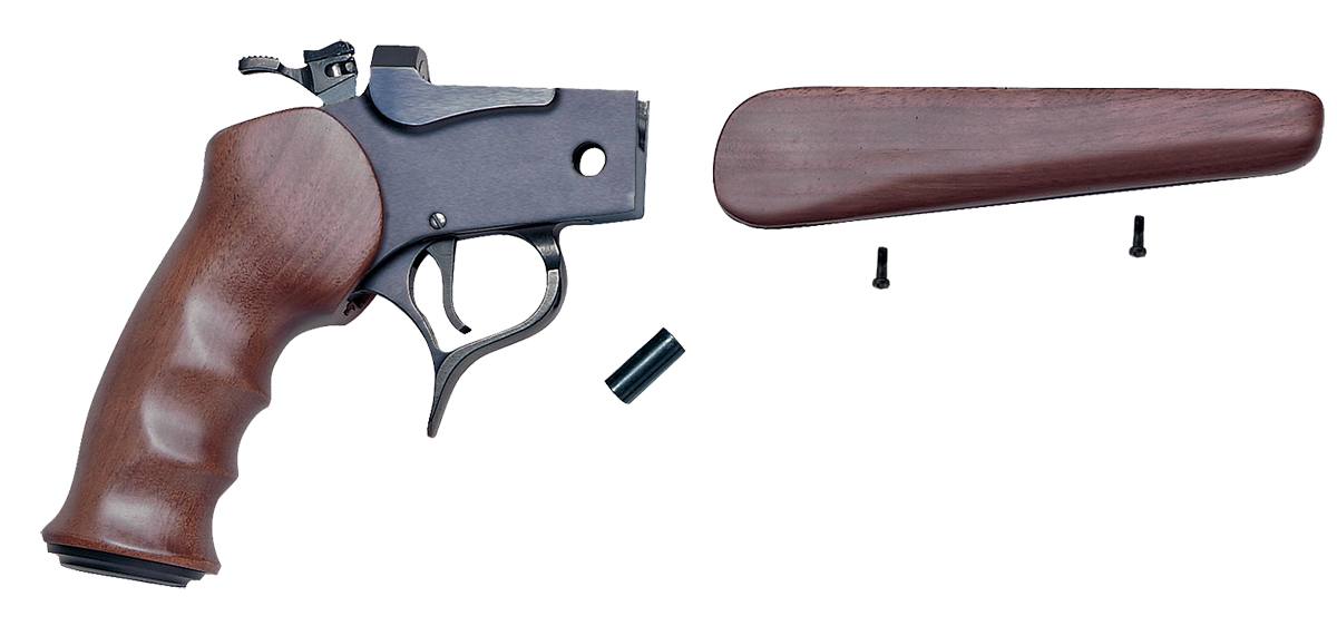 T/C Arms 08028700 G2 Contender Pistol Frame Assembly Contender Blued Steel Satin Walnut