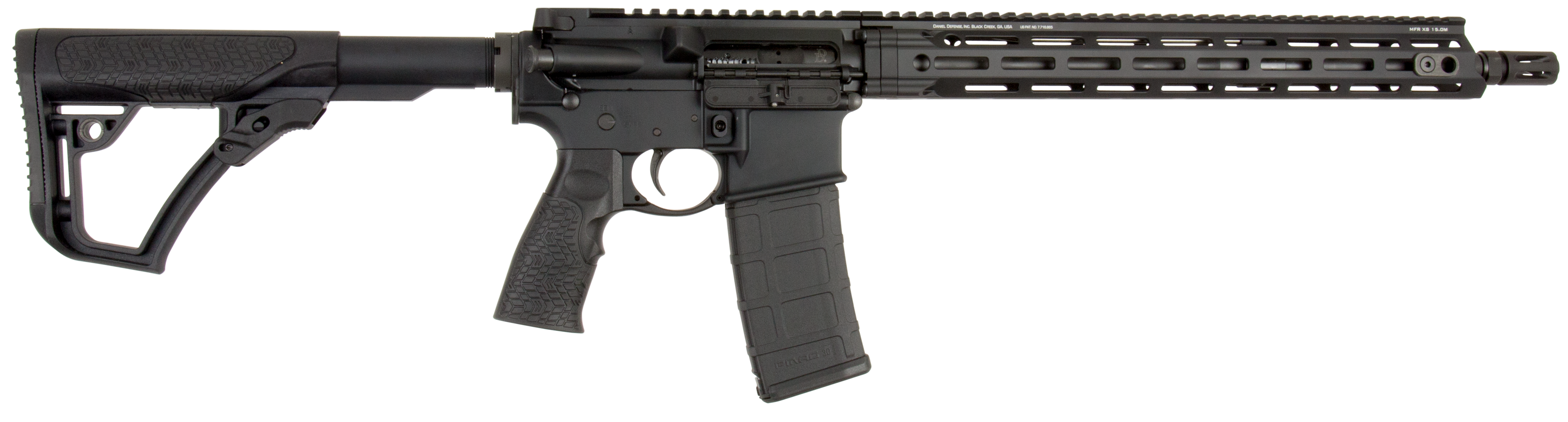 Daniel Defense 02081055 DDM4 V7 *CA Compliant* Semi-Automatic 223 Remington/5.56 NATO 16