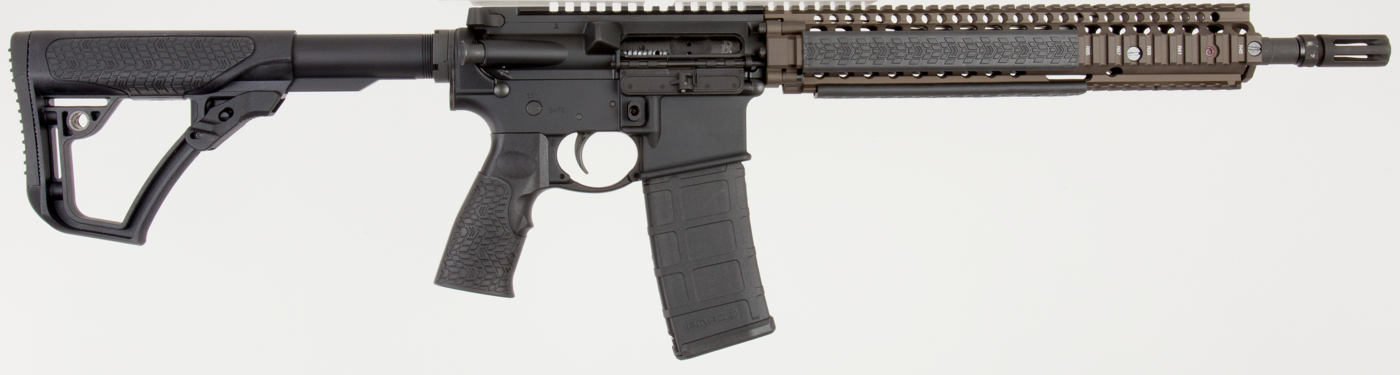 Daniel Defense 06027055 DDM4 M4A1 *CA Compliant* Semi-Automatic 223 Remington/5.56 NATO 14