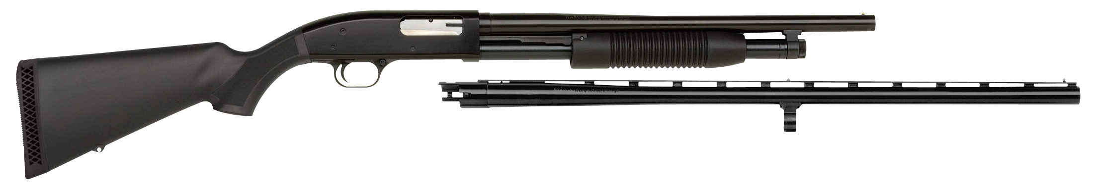 Maverick Arms 31014 88 Field and Security Combo Pump 12 Gauge Black Synthetic Stock Blued