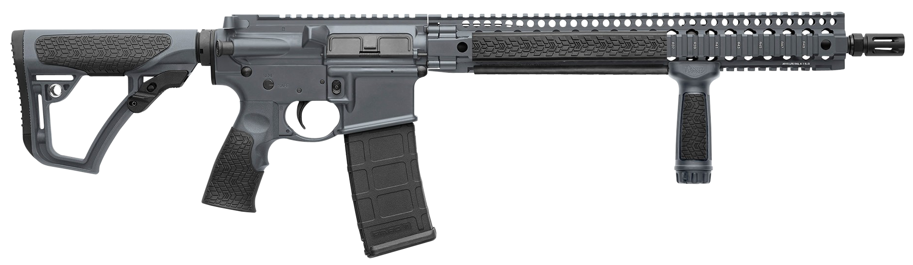 Daniel Defense 01035047 DDM4 V9 LW Tornado Semi-Automatic 223 Remington/5.56 NATO 16