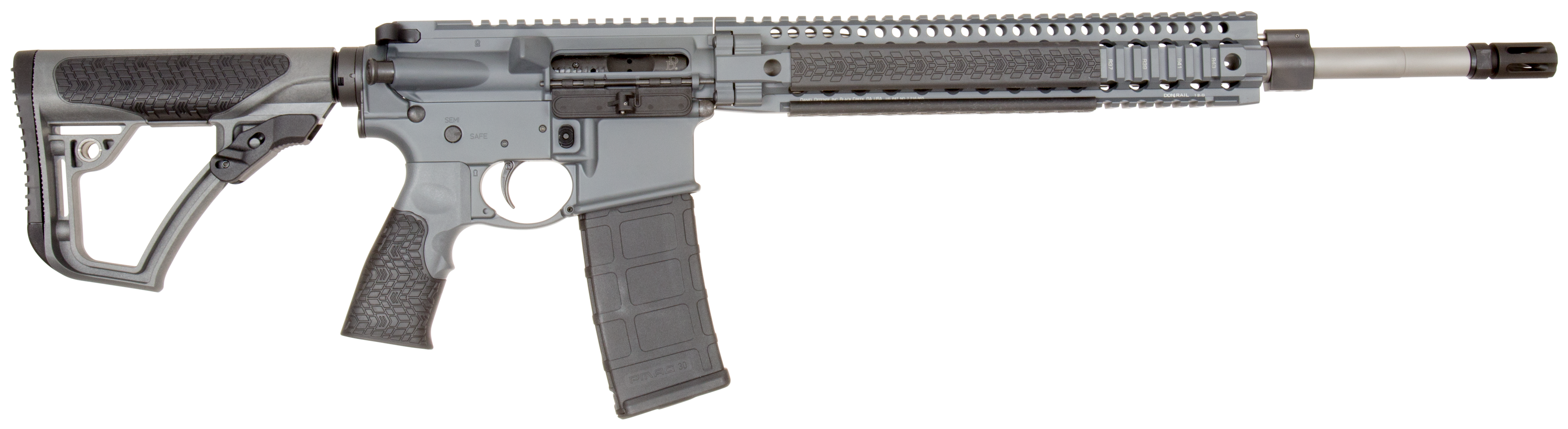 Daniel Defense 01198047 DDM4 MK12 Semi-Automatic 223 Remington/5.56 NATO 18