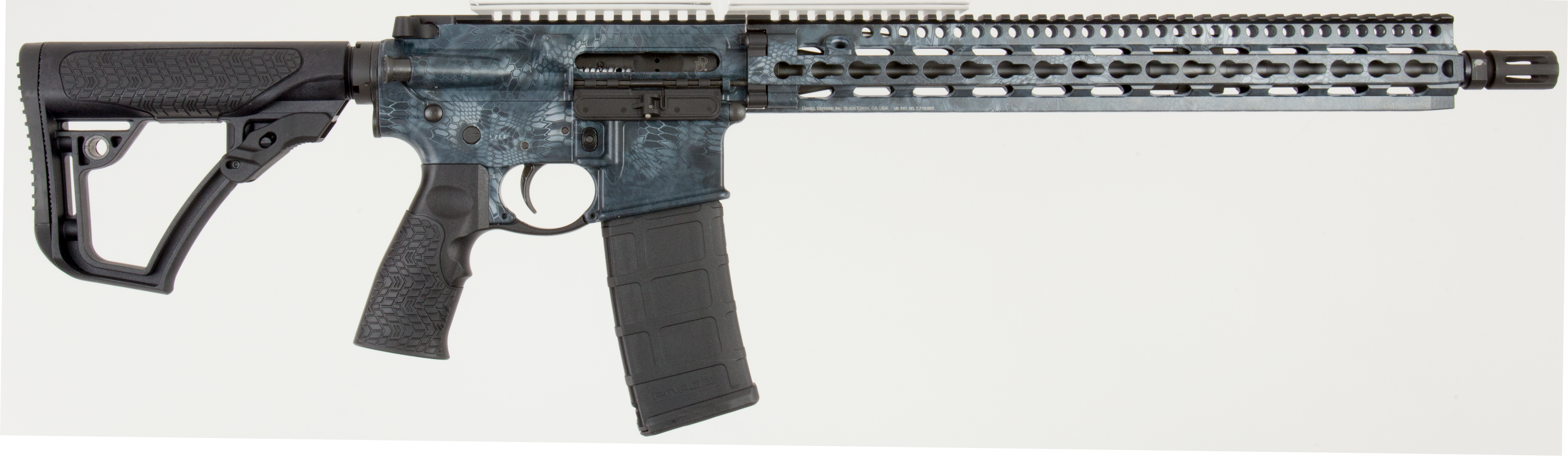 Daniel Defense 05148047 DDM4 V11 Semi-Automatic 223 Remington/5.56 NATO 16
