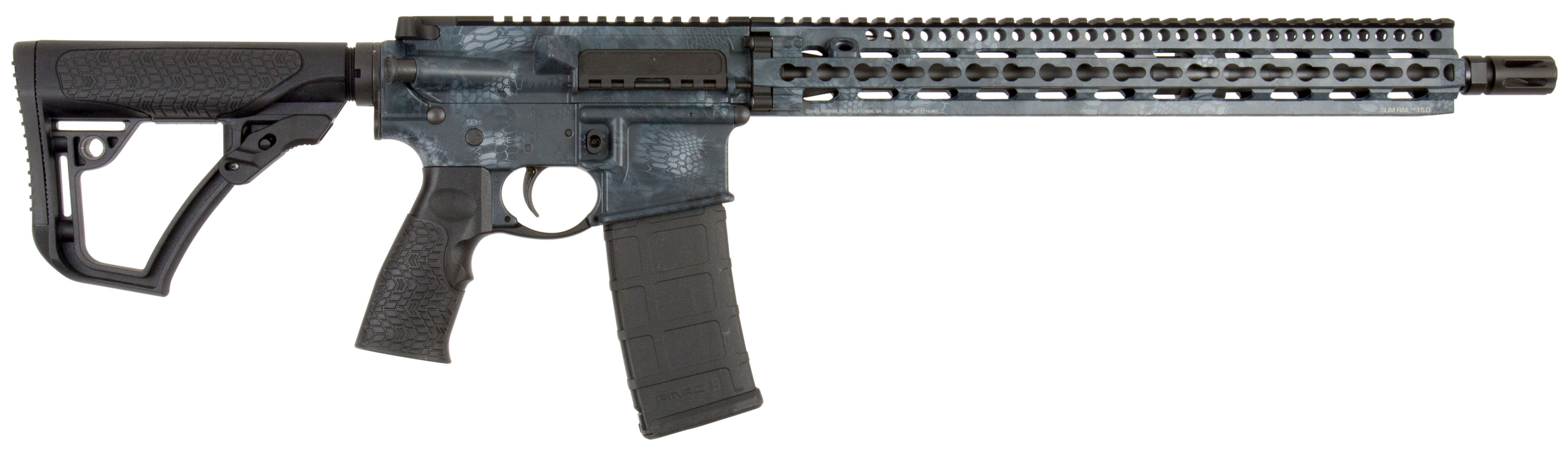 Daniel Defense 05148055 DDM4 V11 *CA Compliant* Semi-Automatic 223 Remington/5.56 NATO 16