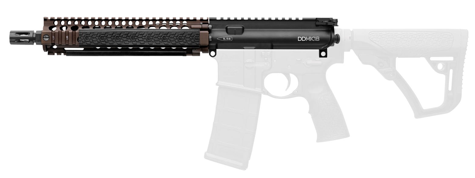 Daniel Defense 08013011 DDMK18 223 Remington/5.56 NATO 10.3