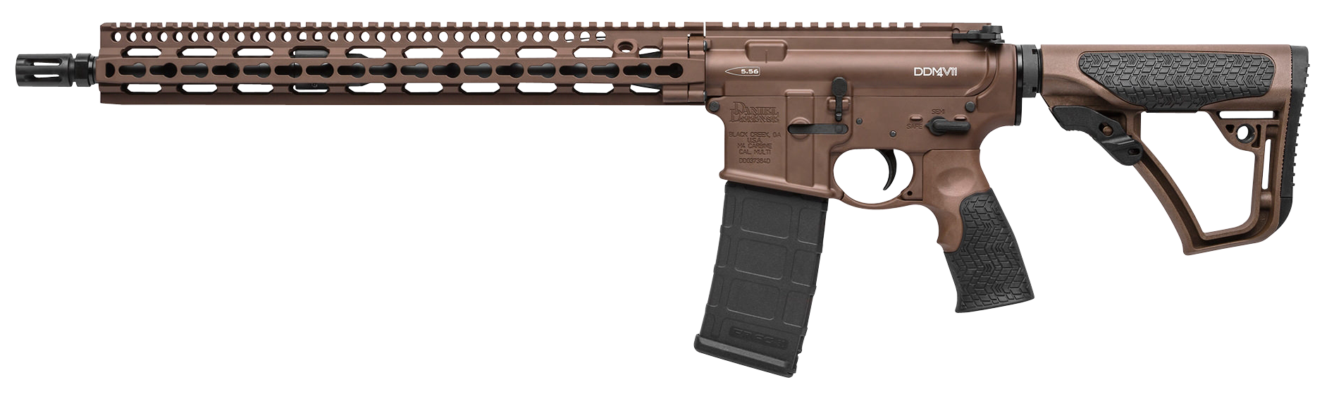 Daniel Defense 00257047 DDM4 V11 Semi-Automatic 223 Remington/5.56 NATO 16