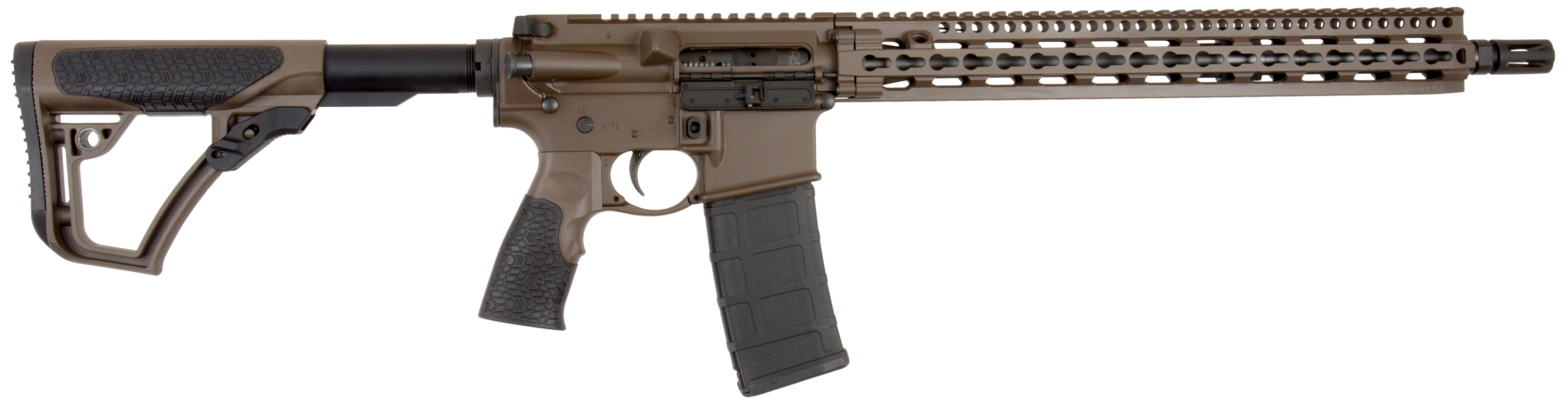 Daniel Defense 00257055 DDM4 V11 *CA Compliant* Semi-Automatic 223 Remington/5.56 NATO 16