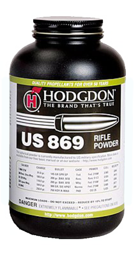 Hodgdon 8691 Spherical US 869 1 lb 1 Canister
